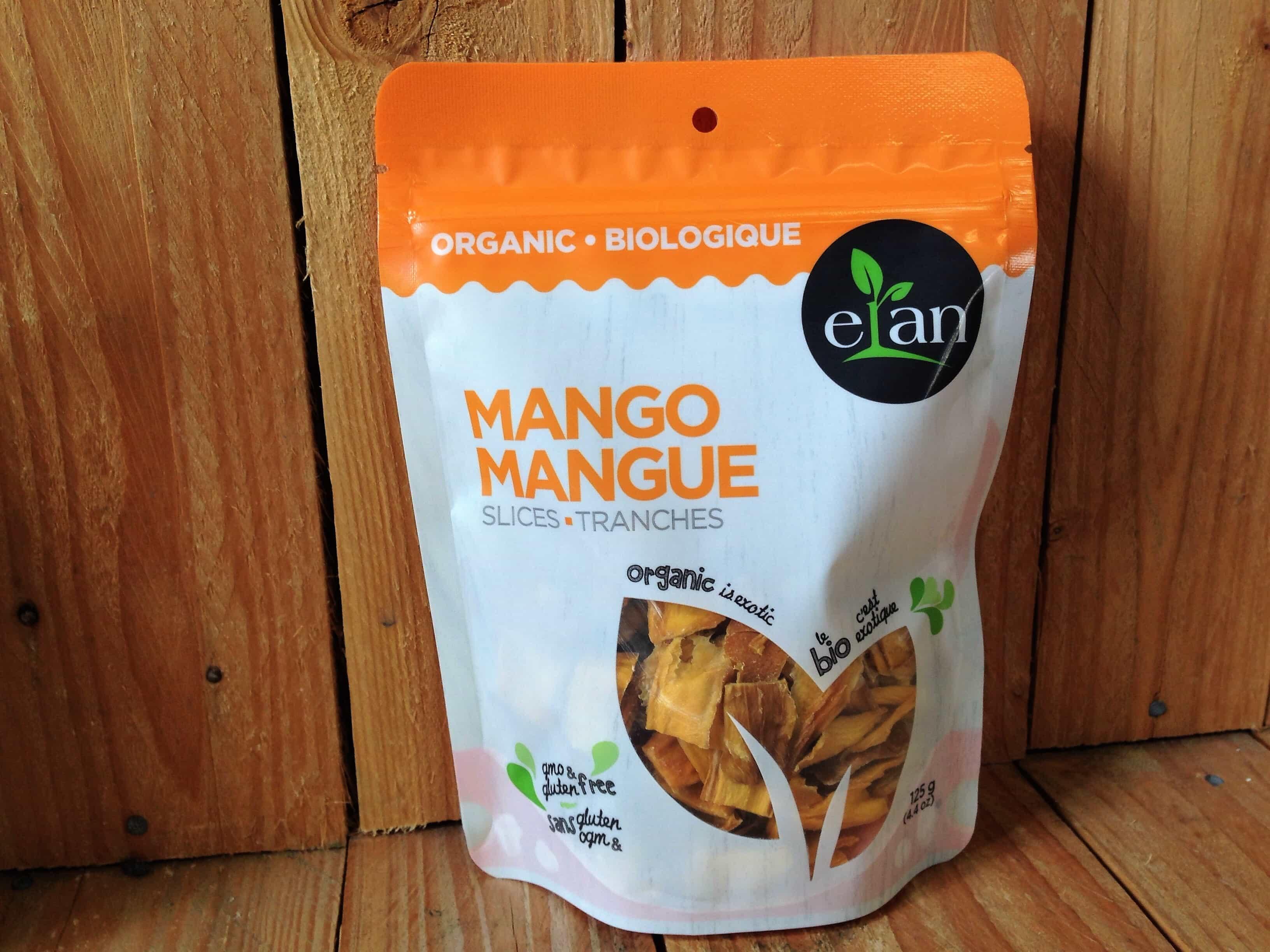 Elan – Organic Mango Slices (125g)