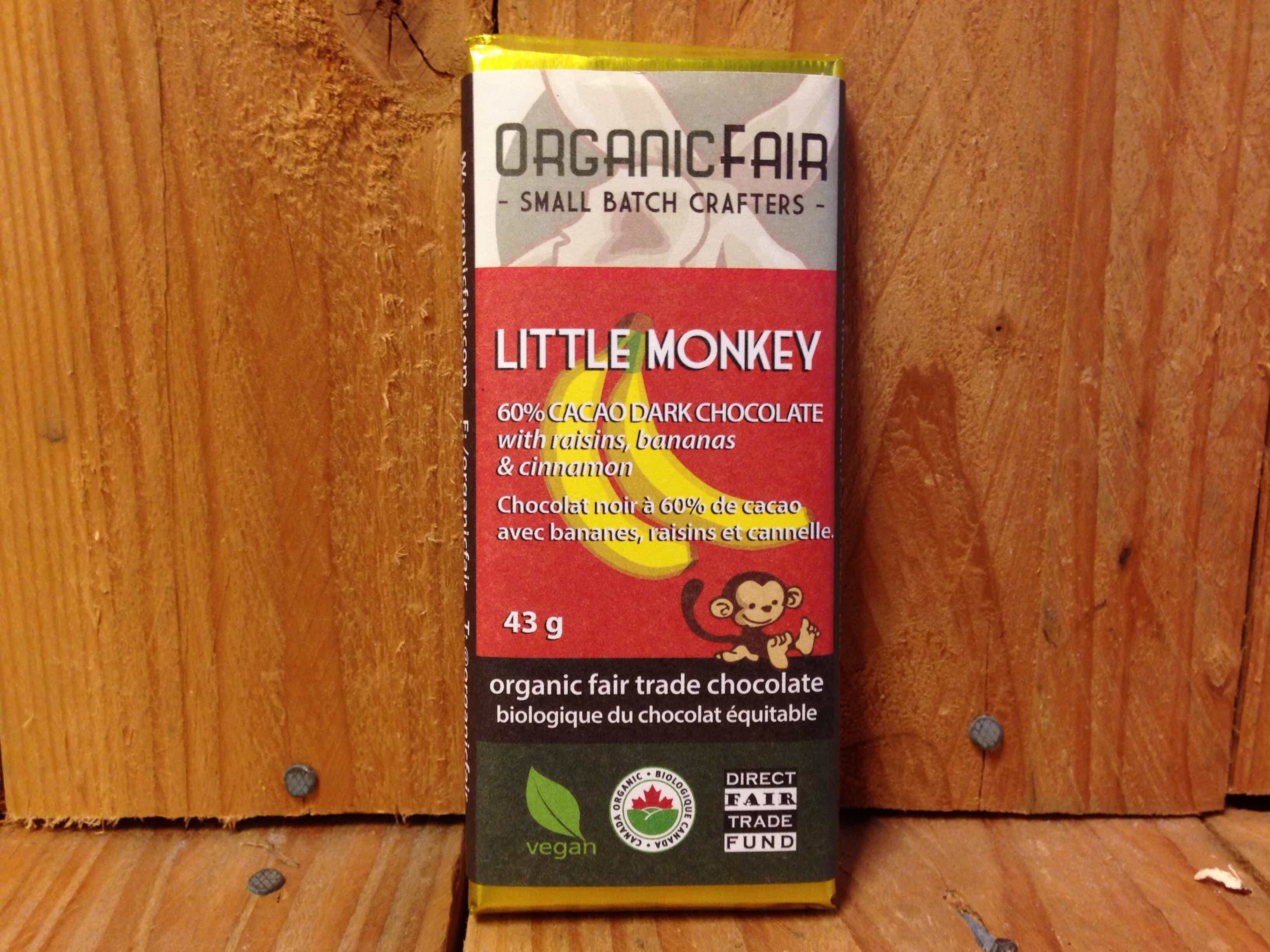 Organic Fair – Chocolate – Little Monkey (43g)
