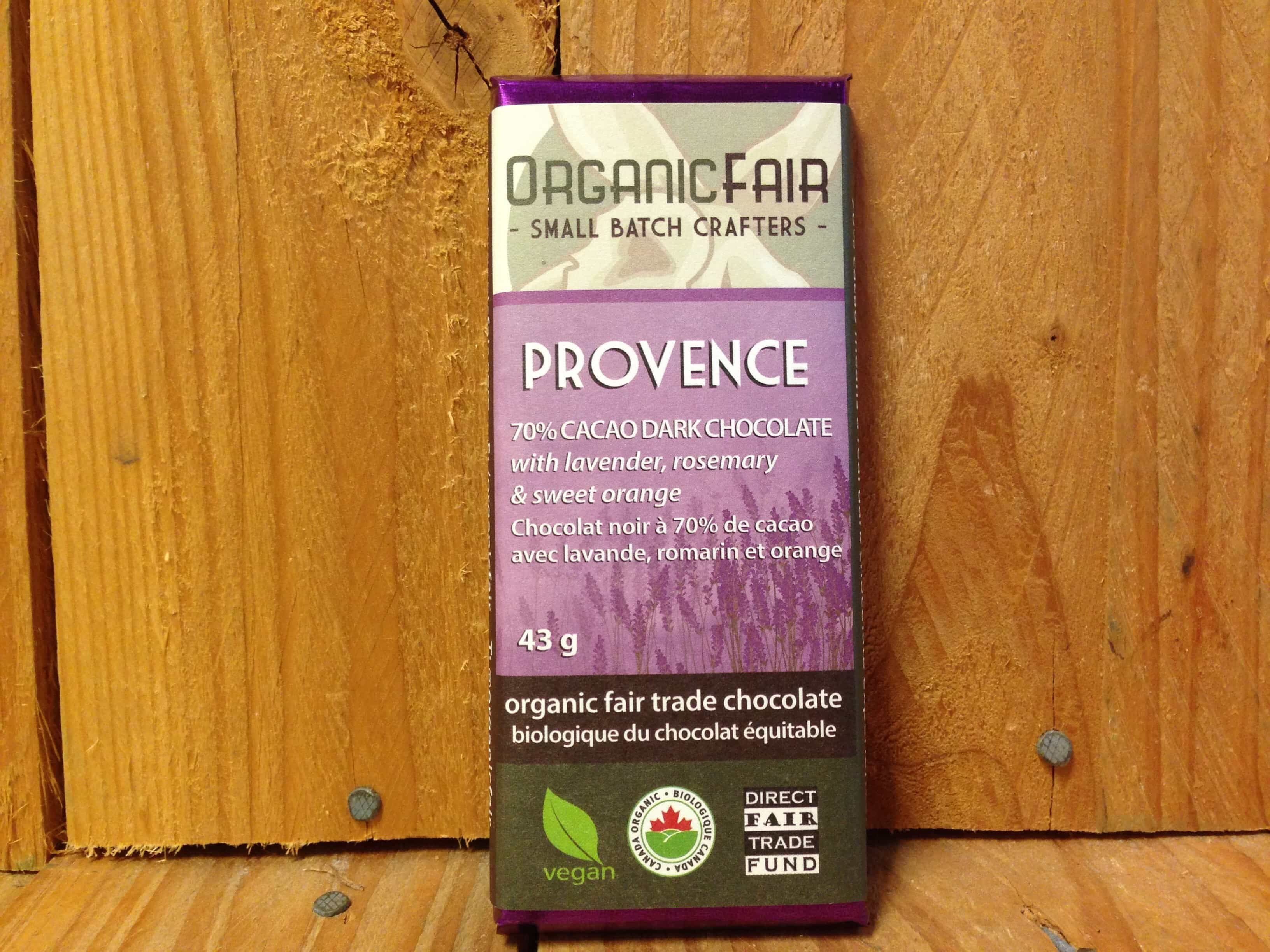 Organic Fair – Chocolate – Provence (43g)