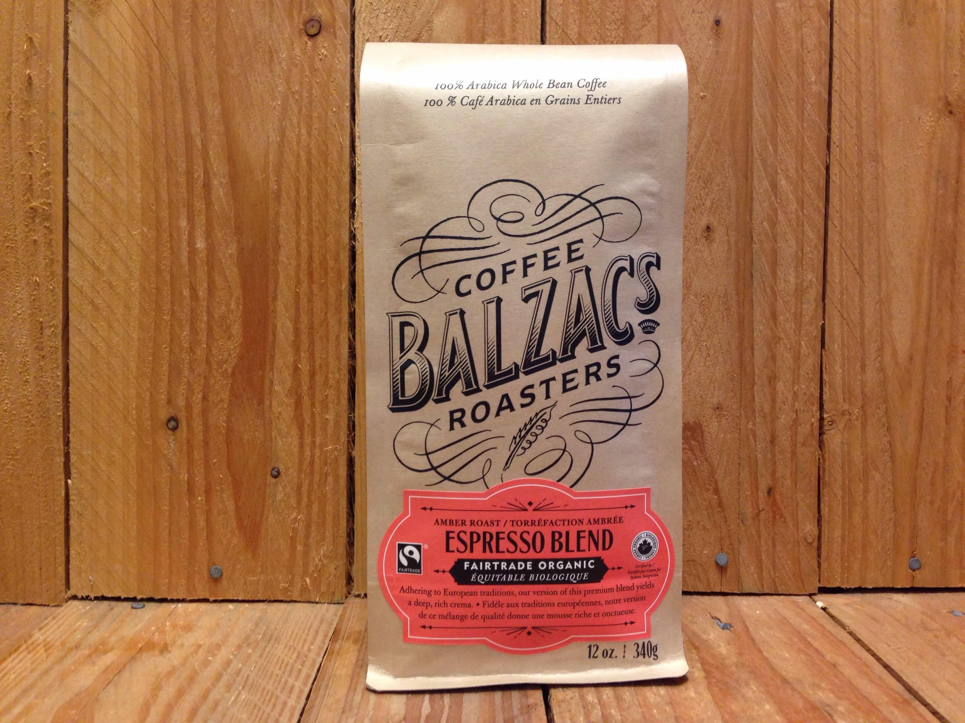 Balzac's Coffee Roasters – Espresso Blend (340g/Beans)