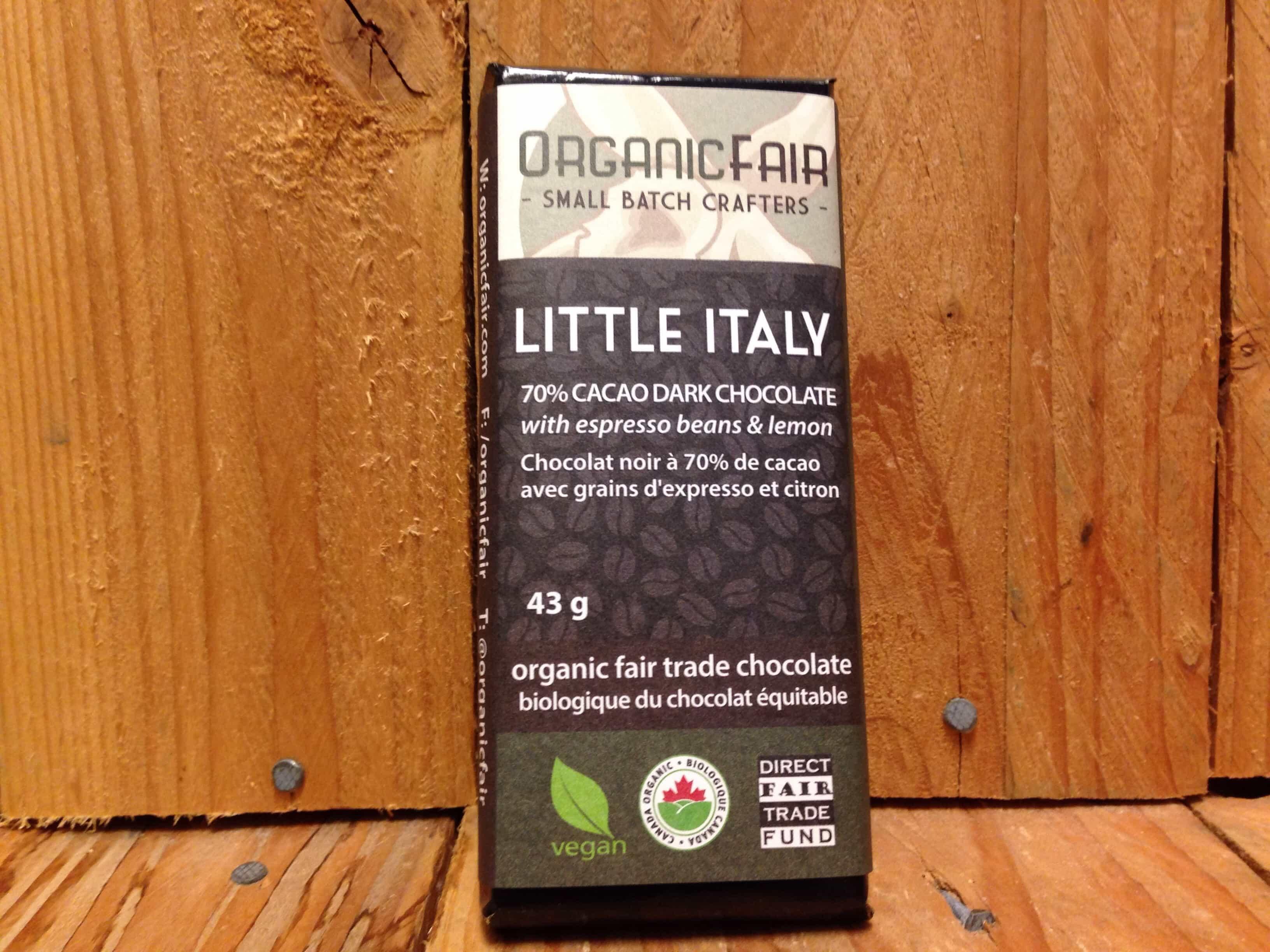 Organic Fair – Chocolate – Little Italy (43g)