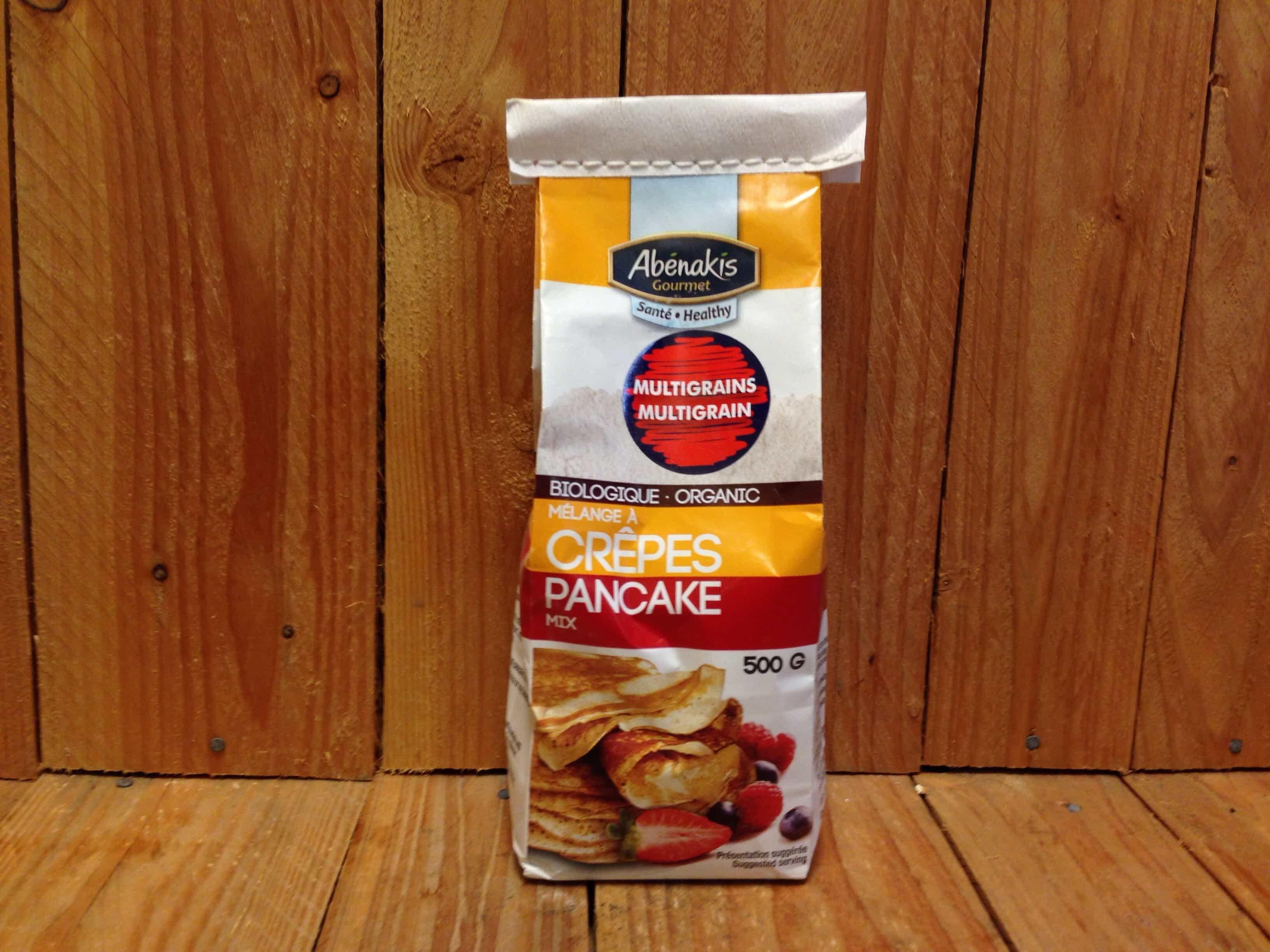 Abénakis – Pancake Mix – Multigrain (500g)