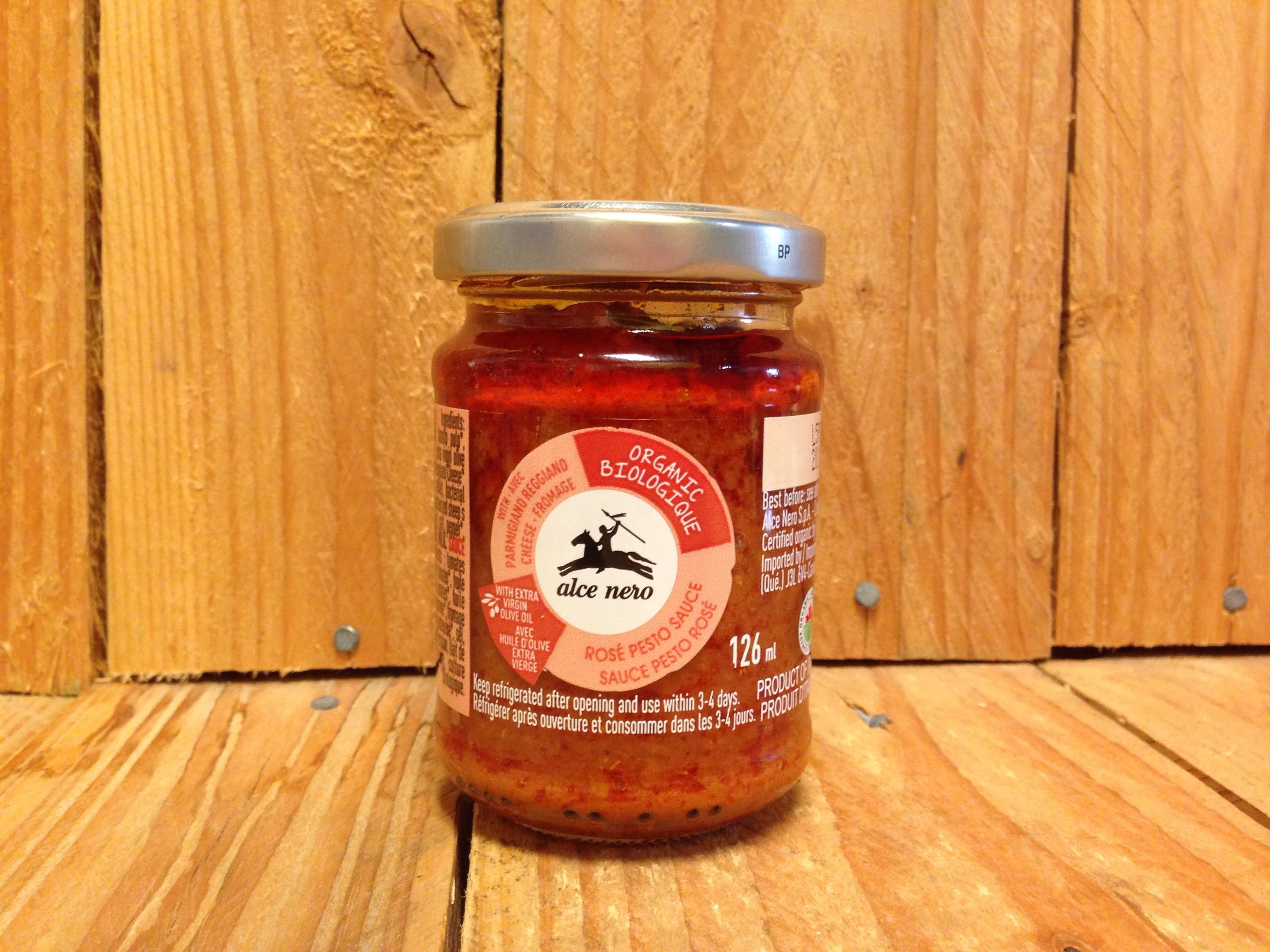 Alce Nero – Pesto – Rose Sauce (126ml)