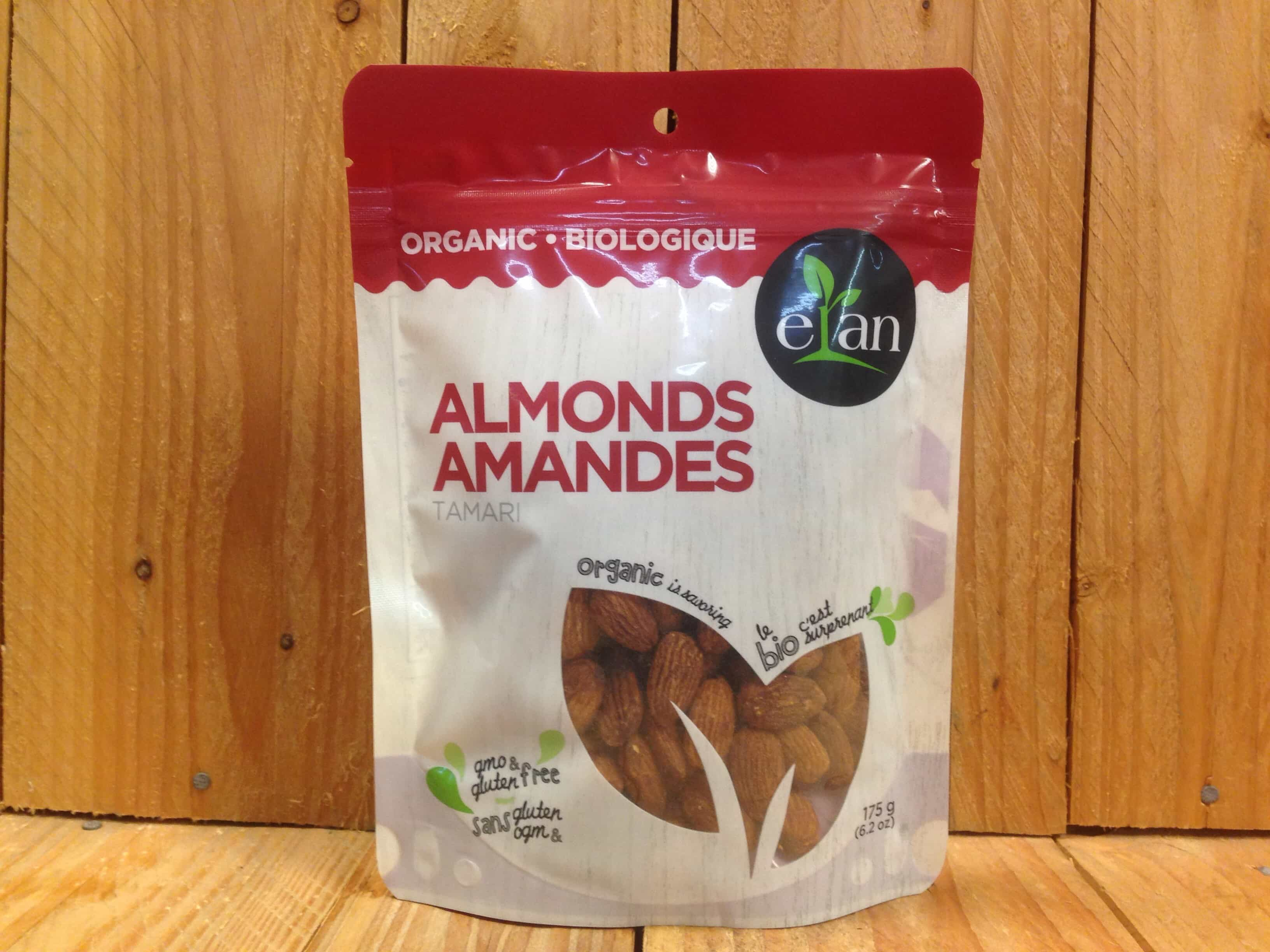 Elan – Organic Tamari Almonds (175g)