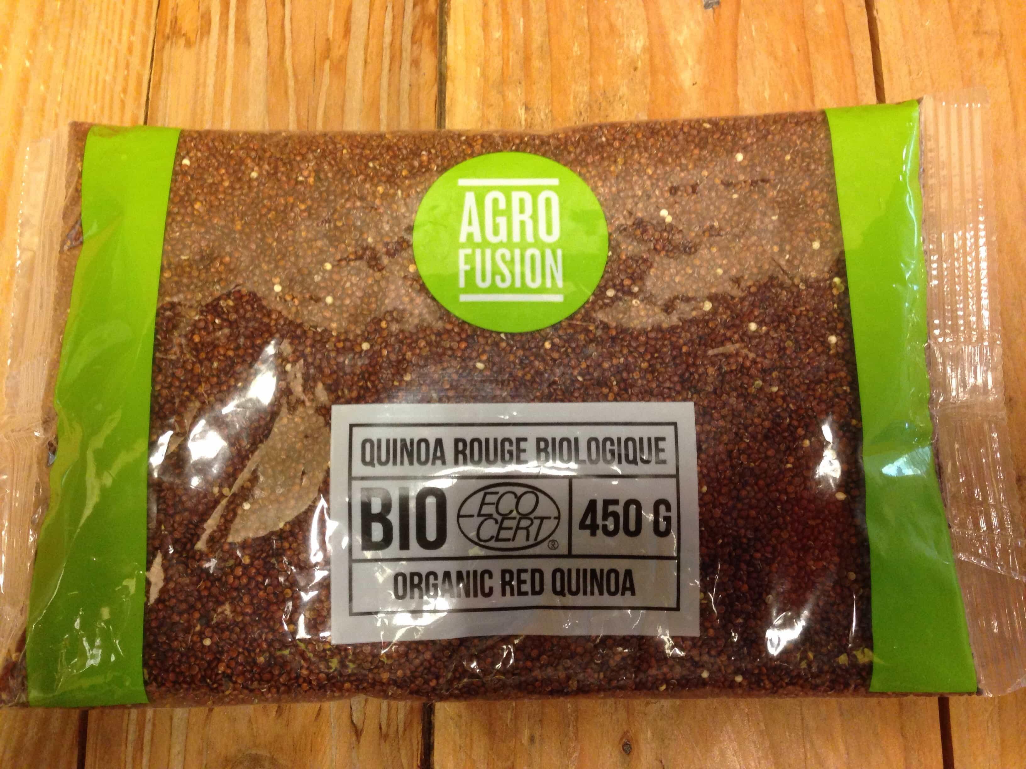 Agro Fusion – Quinoa Red (450g)
