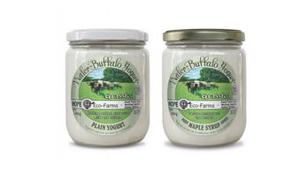 Hope Eco Farms – Water Buffalo Yogurt Plain NON-CERTIFIED (450g)