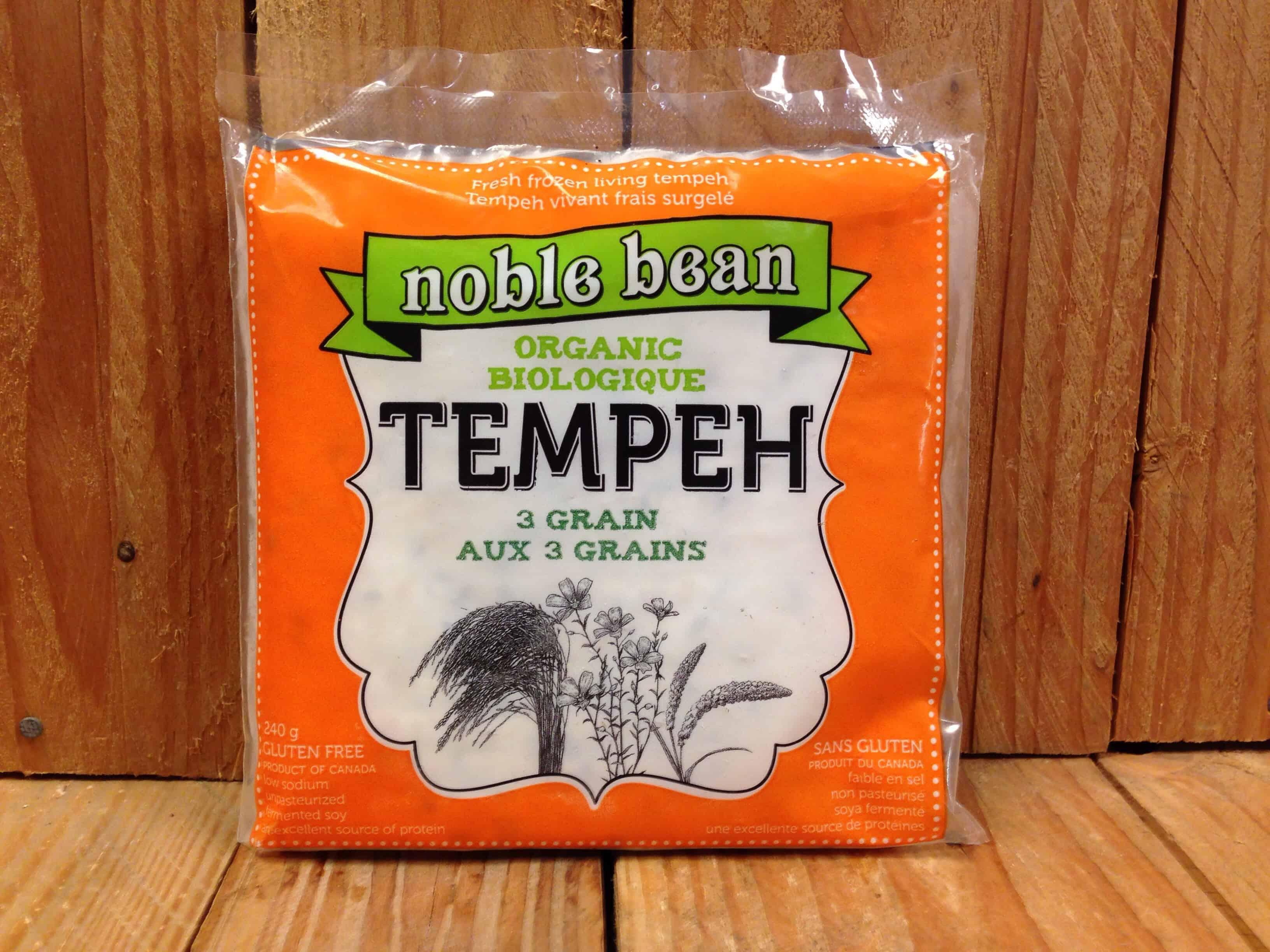 Noble Bean – Tempeh – 3 Grain (240g)