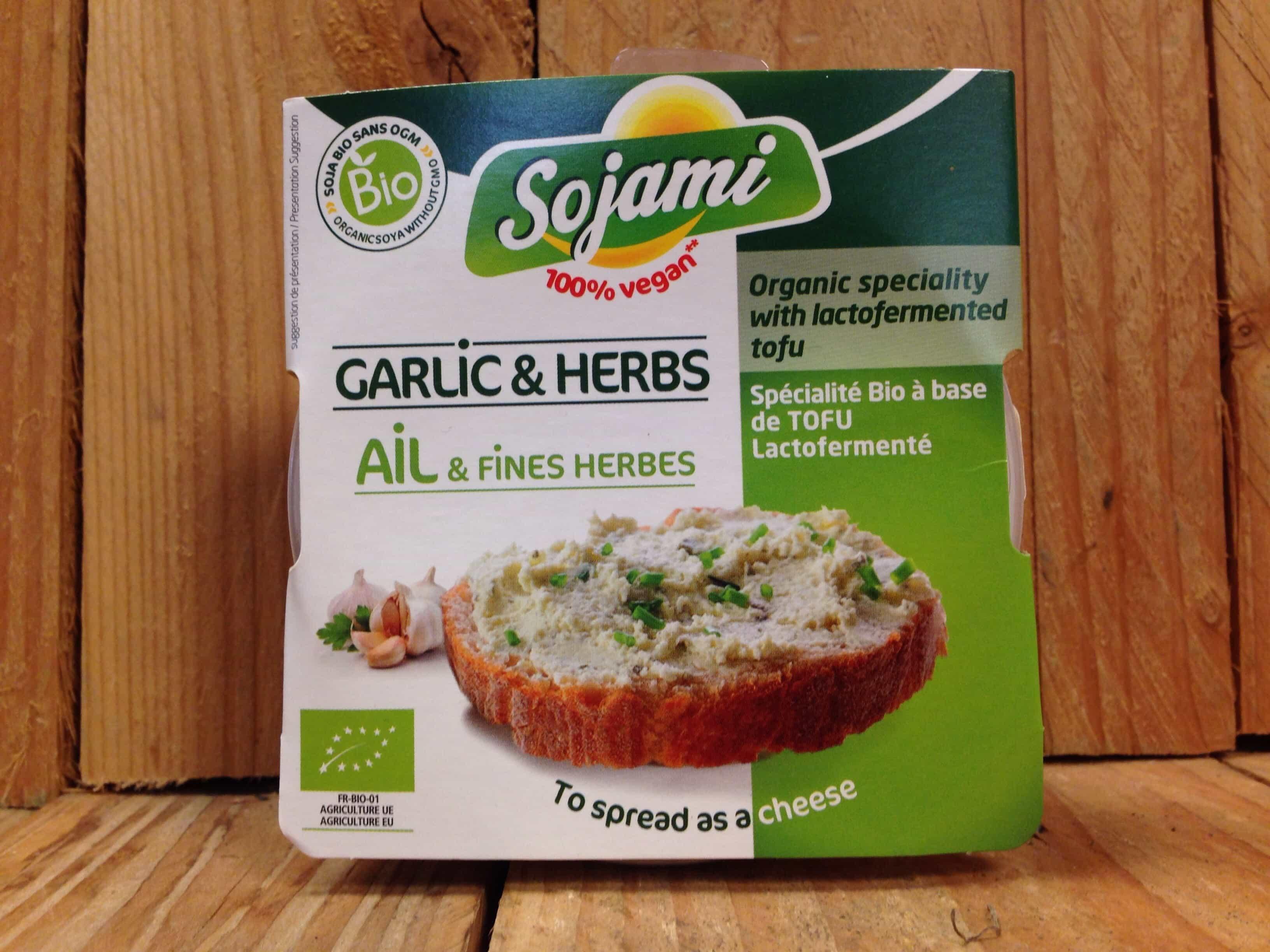 Sojami Vegan Spread – Herbs & Garlic