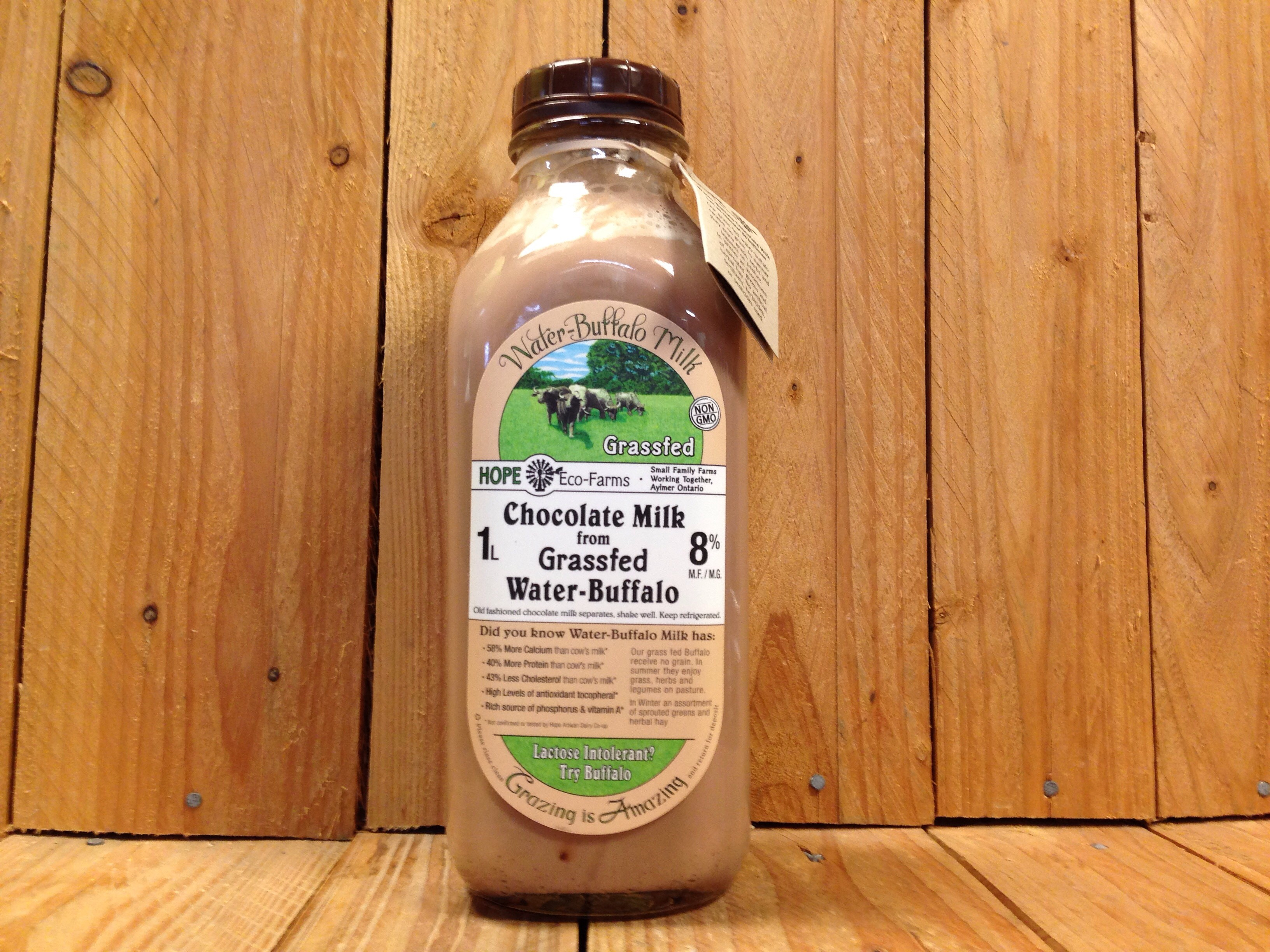 Hope Eco Farms Water Buffalo Milk Chocolate Non