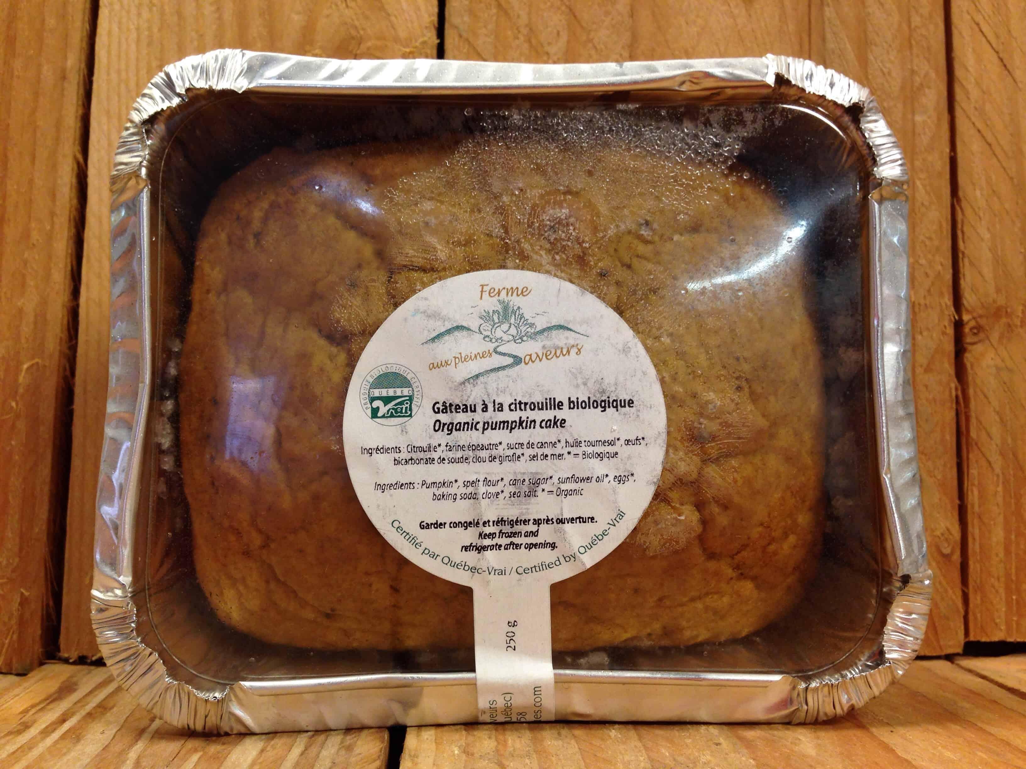 Ferme aux Pleines Saveurs – Frozen Pumpkin Cake (250g)