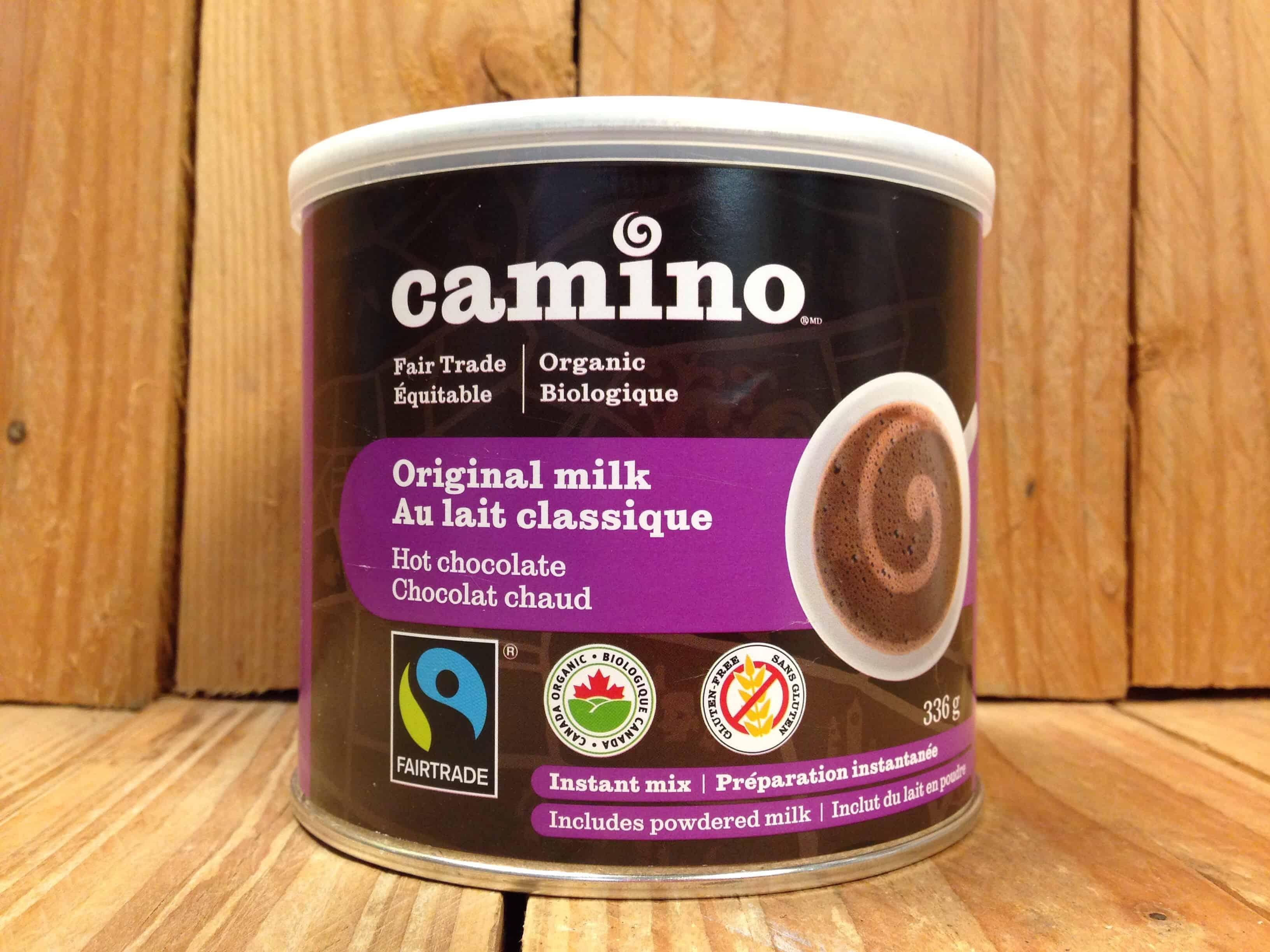 Camino – Organic Cocoa Milk Hot Chocolate Powder (336g Tin)