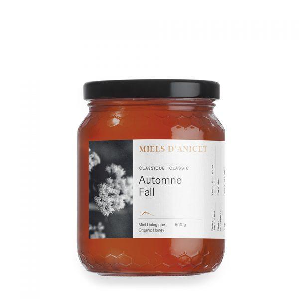 Miels d'Anicet – Honey – Classic Fall (500g Jar)