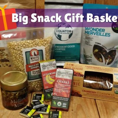 Organic Gift Basket – Big Snack