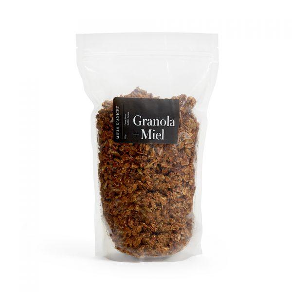 Miels d'Anicet – Granola + Honey (550g)