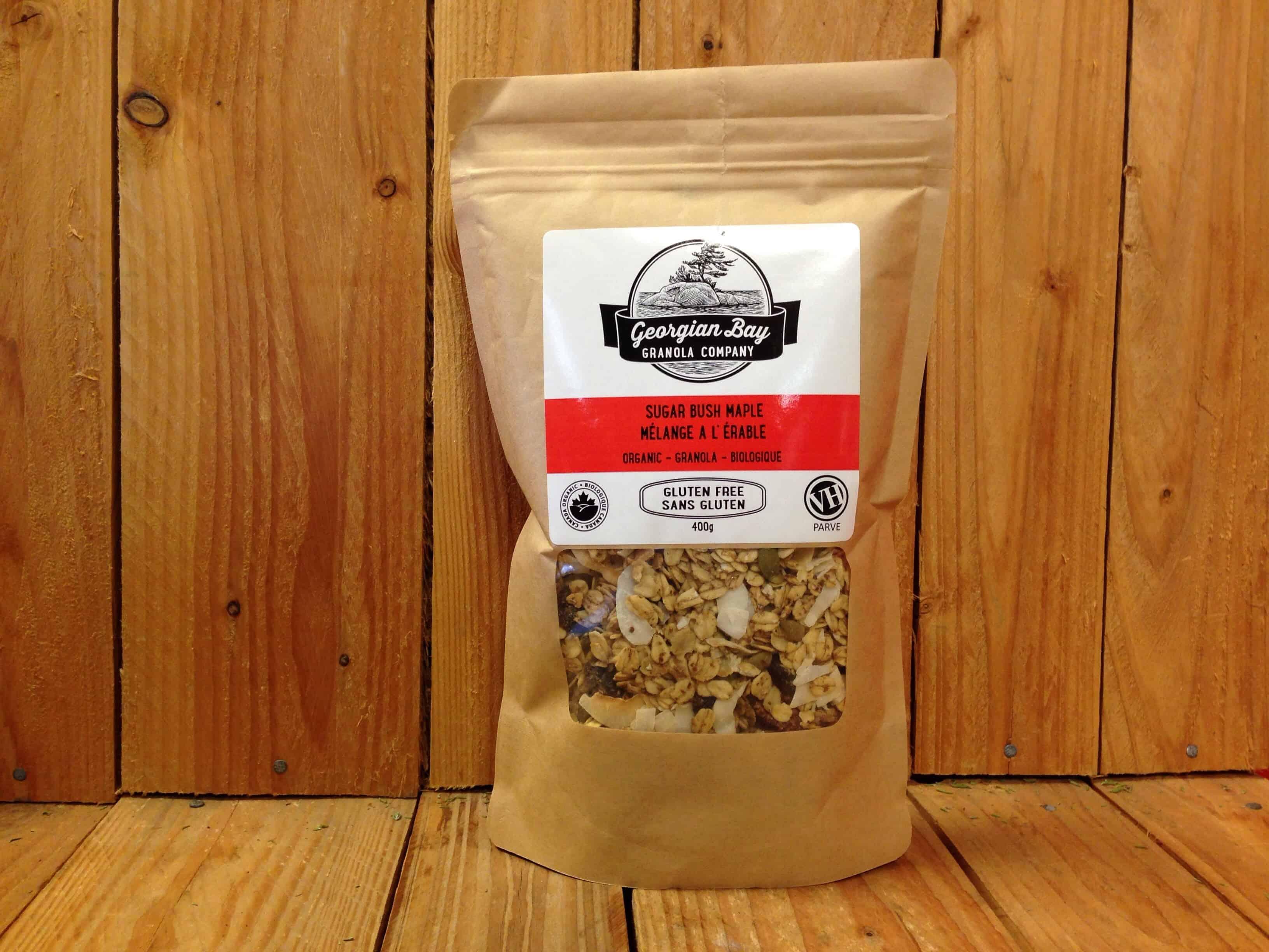 Georgian Bay Granola Co. – Sugar Bush Maple Gluten-Free (400g)