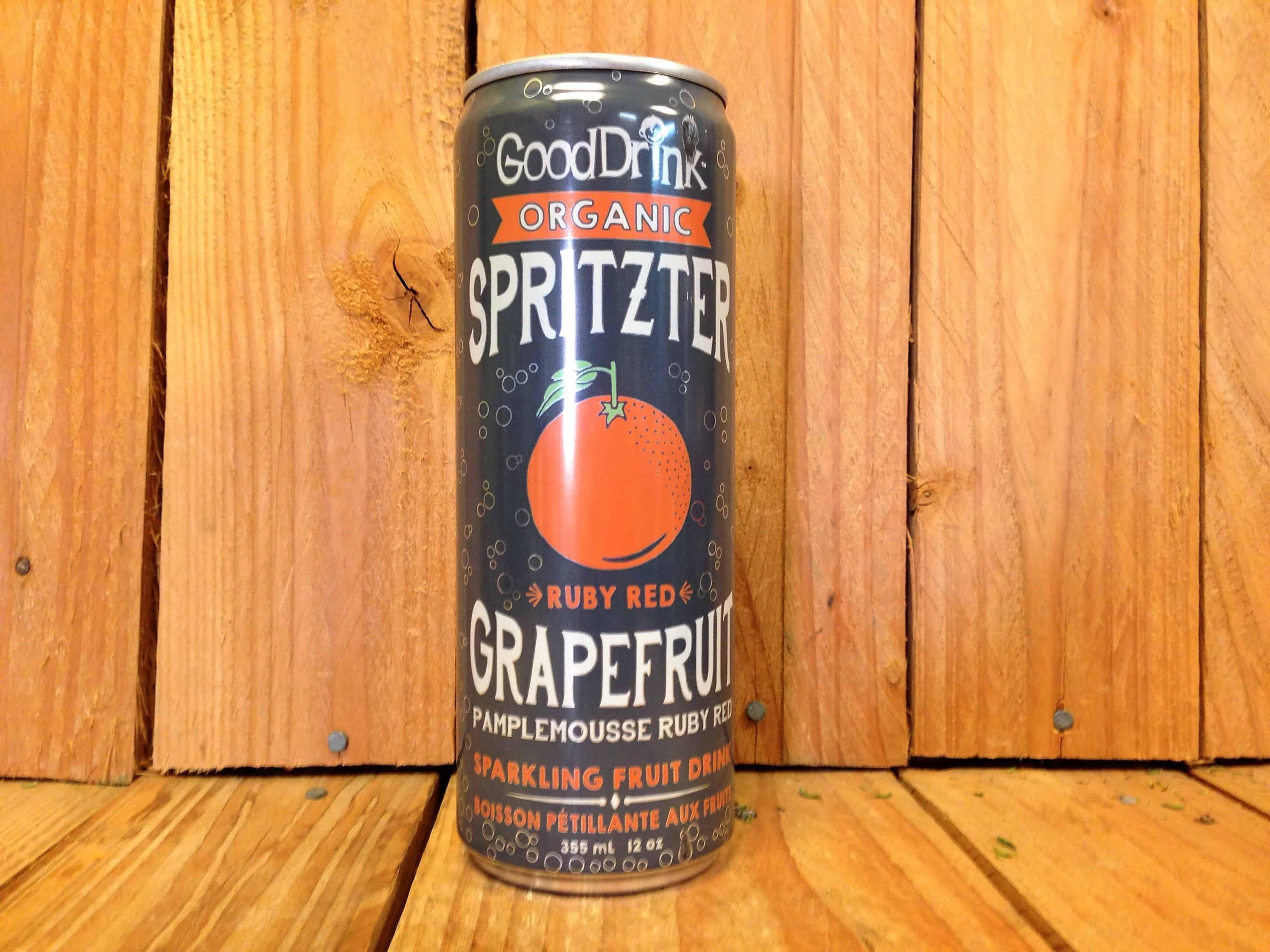 Good Drink Organic – Ruby Red Grapefruit Spritzter (355ml)