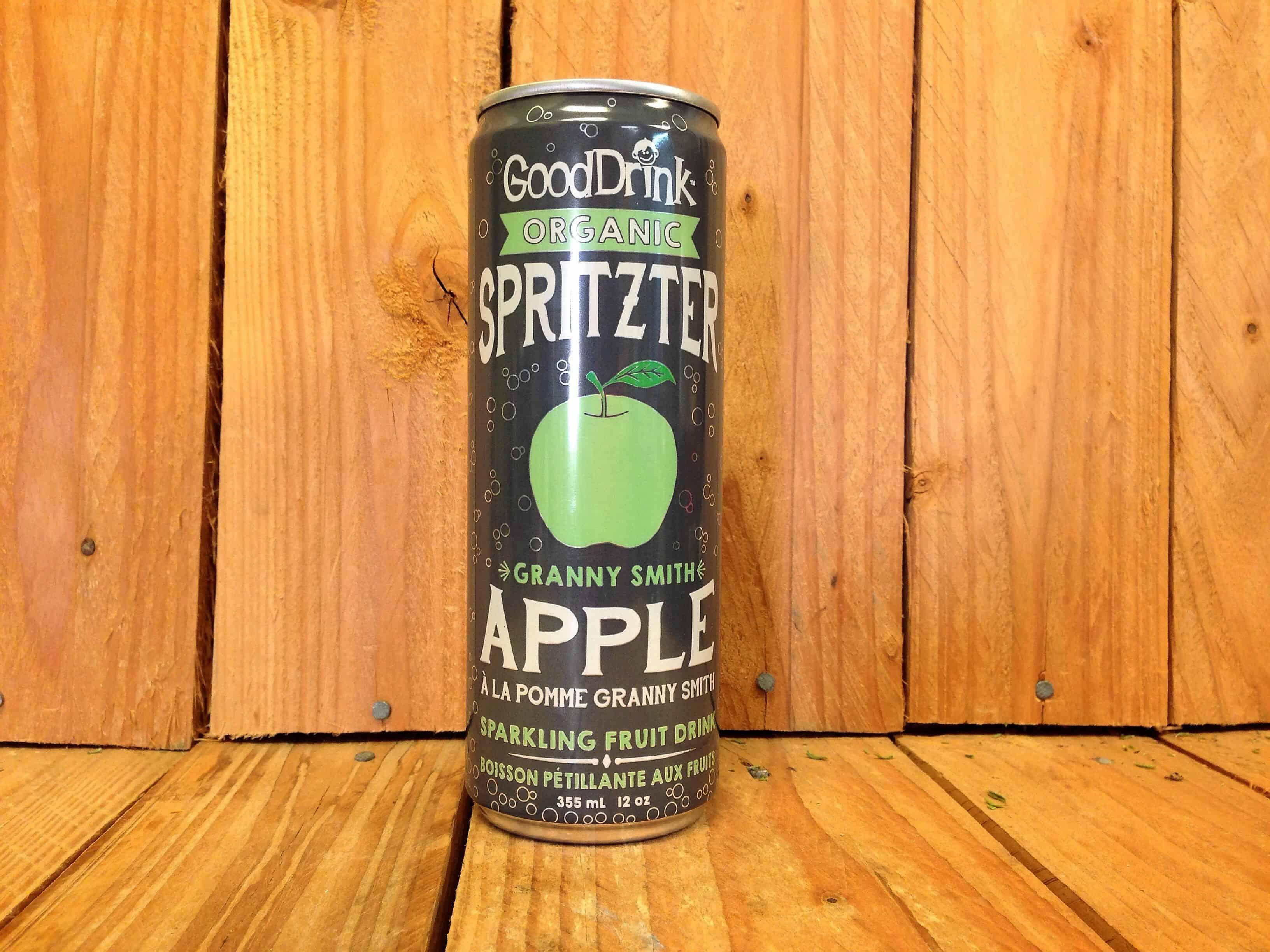 Good Drink Organic – Granny Smith Apple Spritzter (355ml)