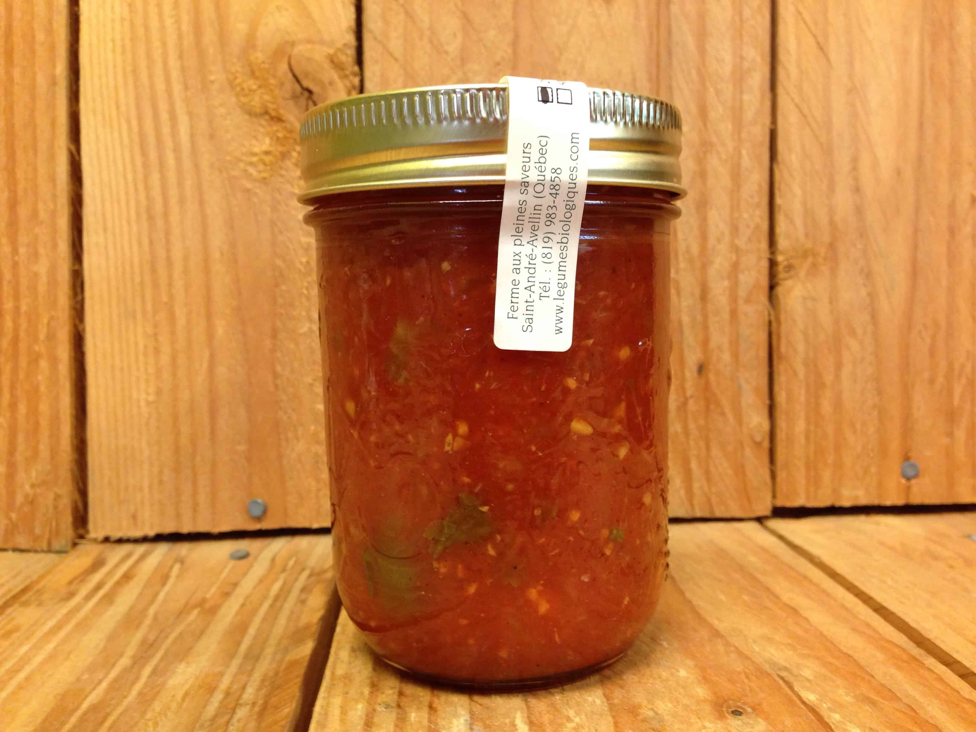 Ferme aux Pleines Saveurs – Hot Salsa (250ml Jar)
