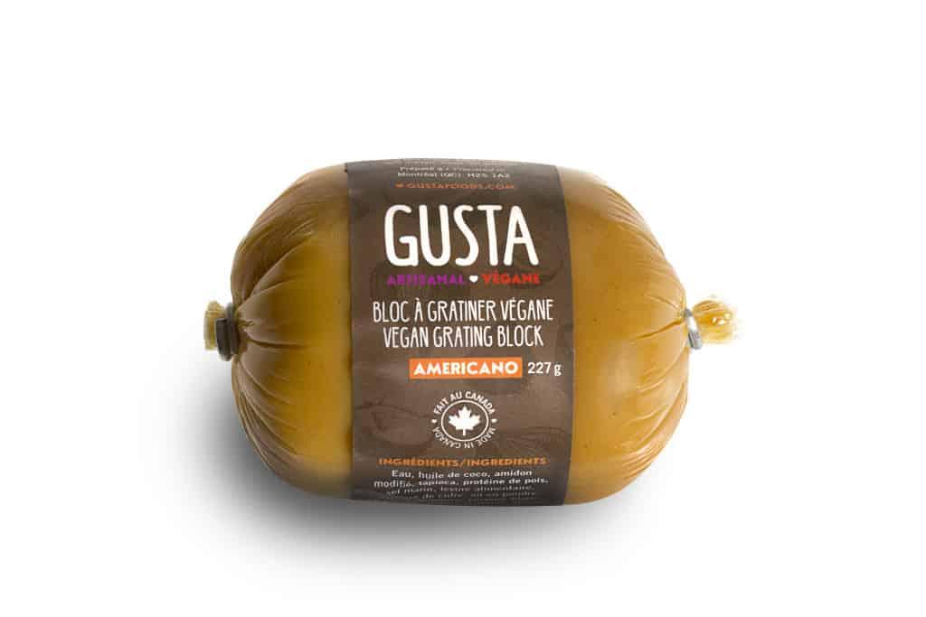 Gusta Vegan Grating Block – NON-CERTIFIED – Americano (227g)