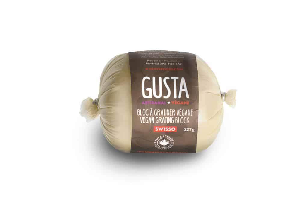 Gusta Vegan Grating Block – NON-CERTIFIED – Swisso (227g)