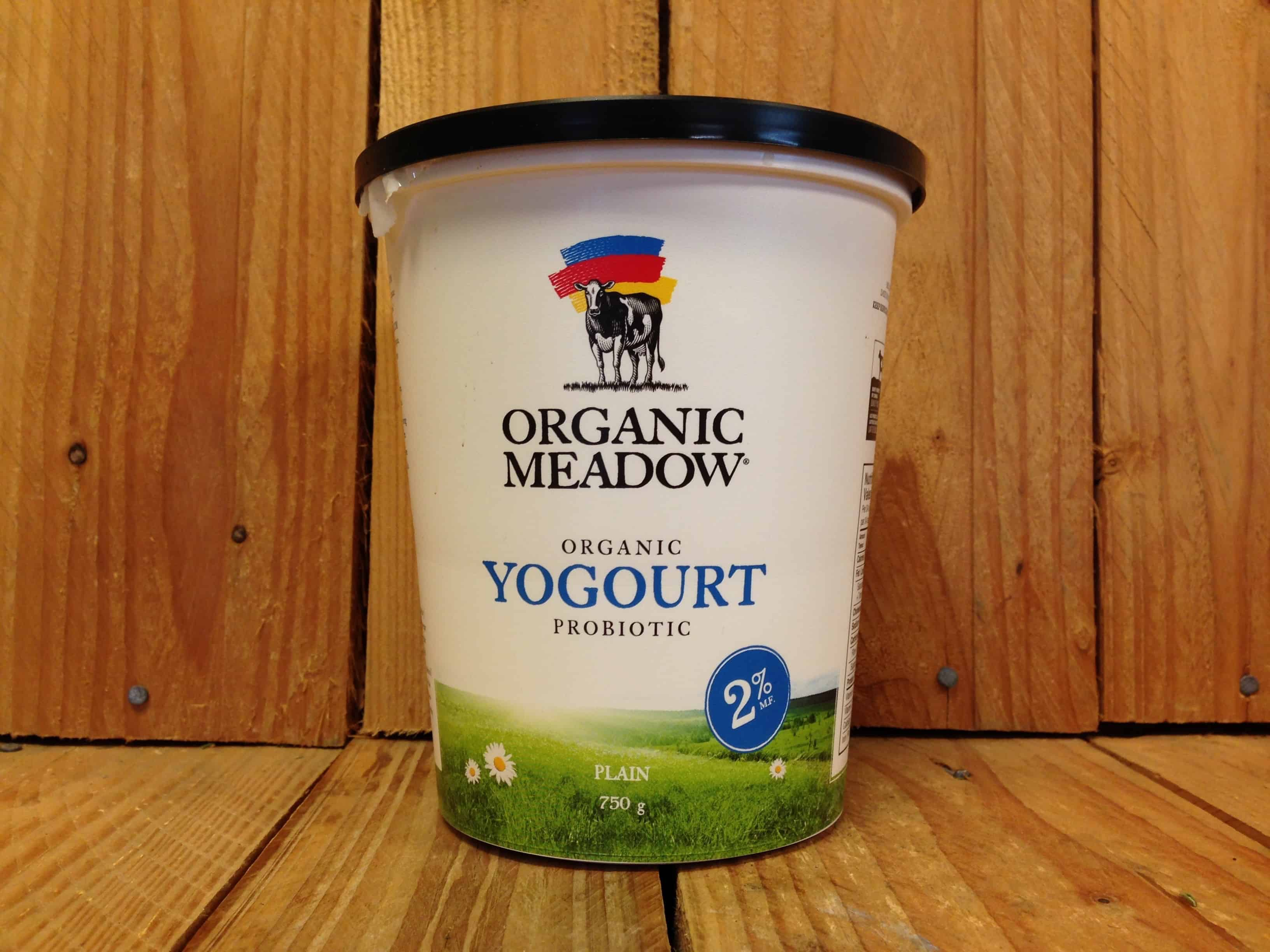 Organic Meadow – 2% Plain Yogurt (750g)