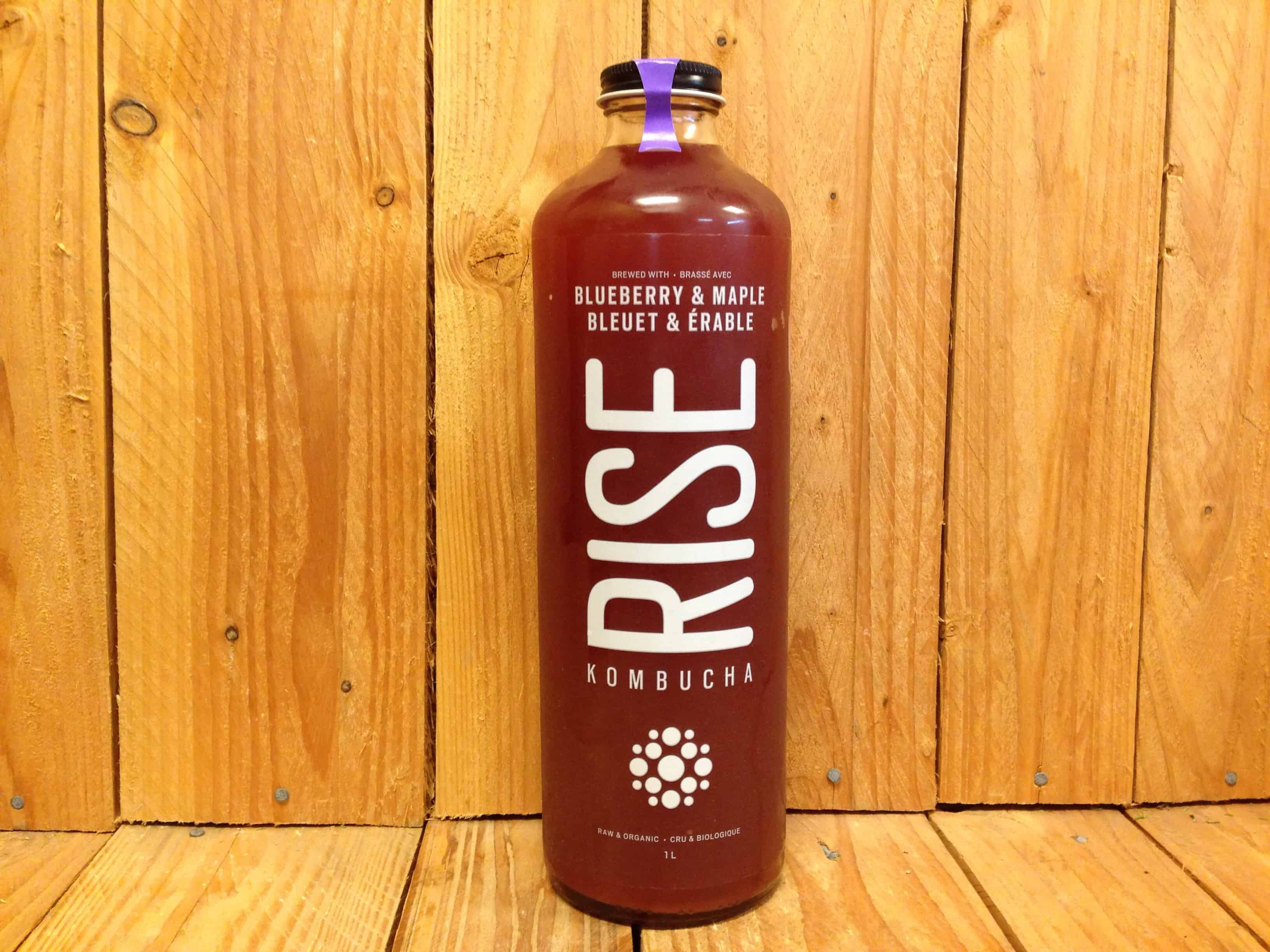 Rise – Kombucha – Blueberry Maple (1L Bottle)