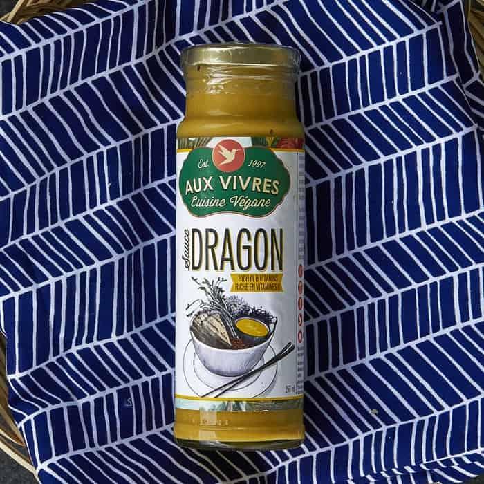 Aux Vivres – Sauce – Dragon VEGAN (250ml Jar)