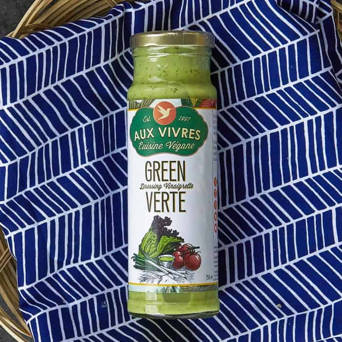Aux Vivres – Vinaigrette – NON-CERTIFIED – Green VEGAN (250ml Jar)