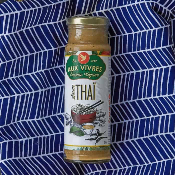 Aux Vivres – Sauce – NON-CERTIFIED – Thai VEGAN (250ml Jar)