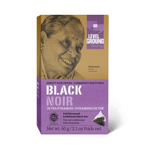 Level Ground Trading – Tea Black FAIR TRADE (20 Pyramids)