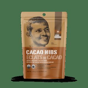 Level Ground Trading – Cacao Nibs FAIR TRADE (120g)