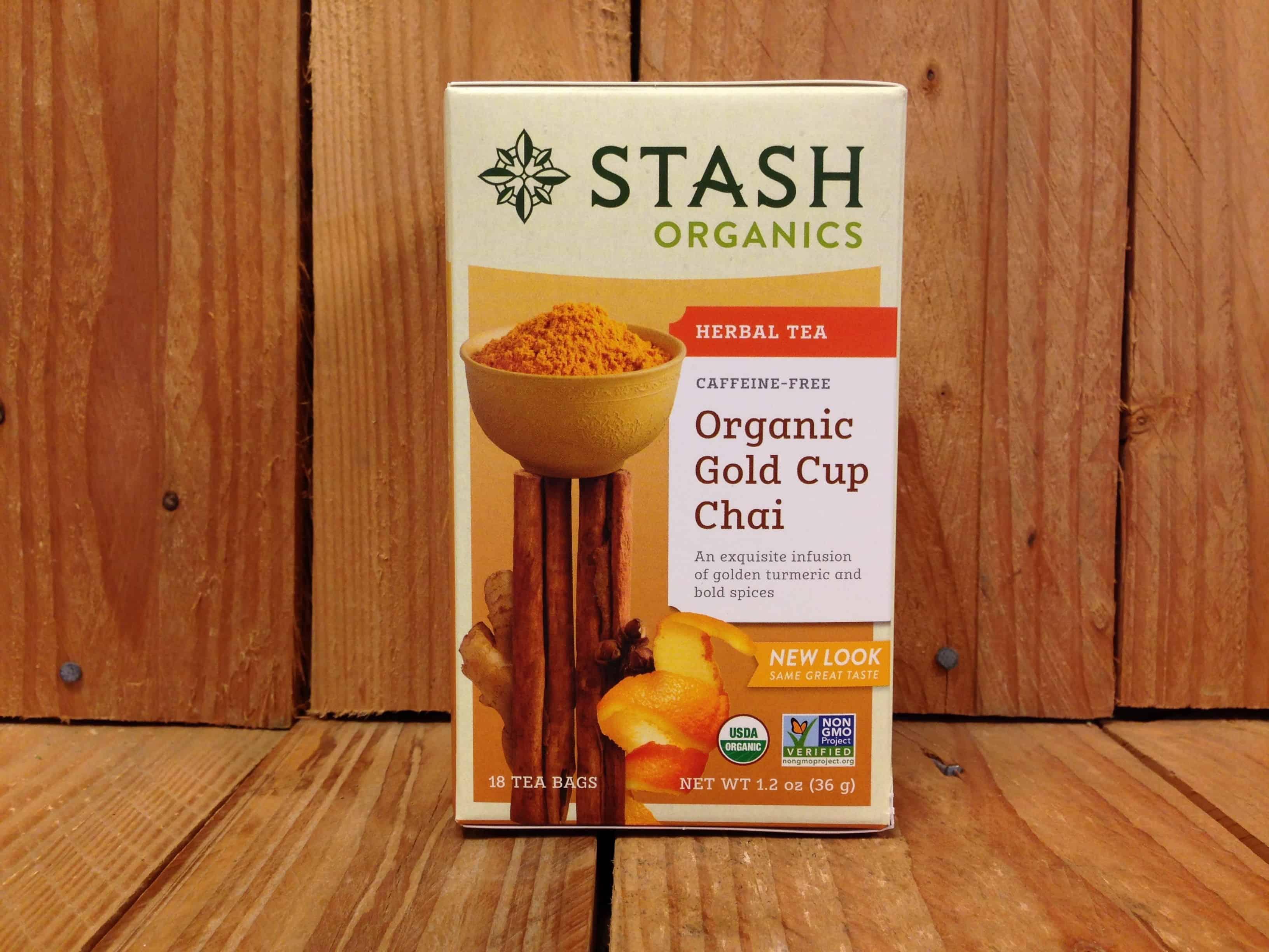 Stash Tea – Gold Cup Chai Herbal Tea (18 Bags)