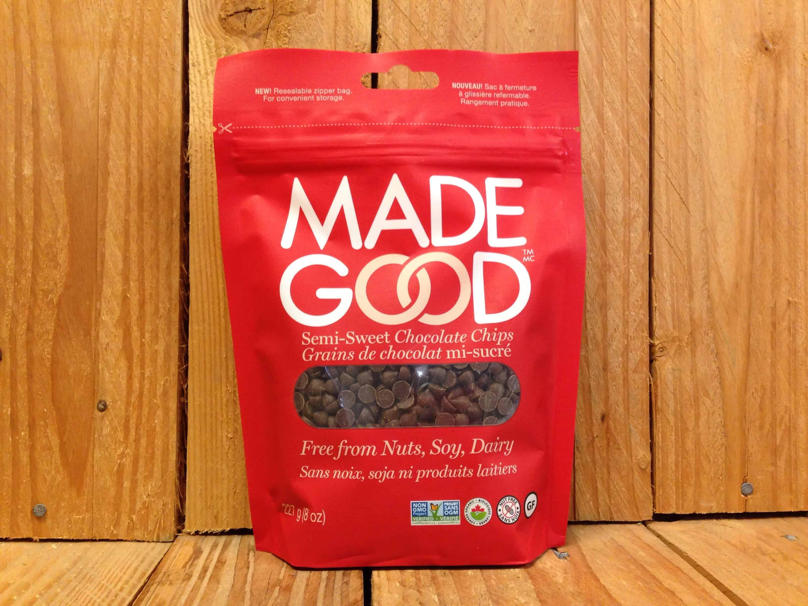 Made Good – Organic Semi-Sweet Chocolate Chips (227g)