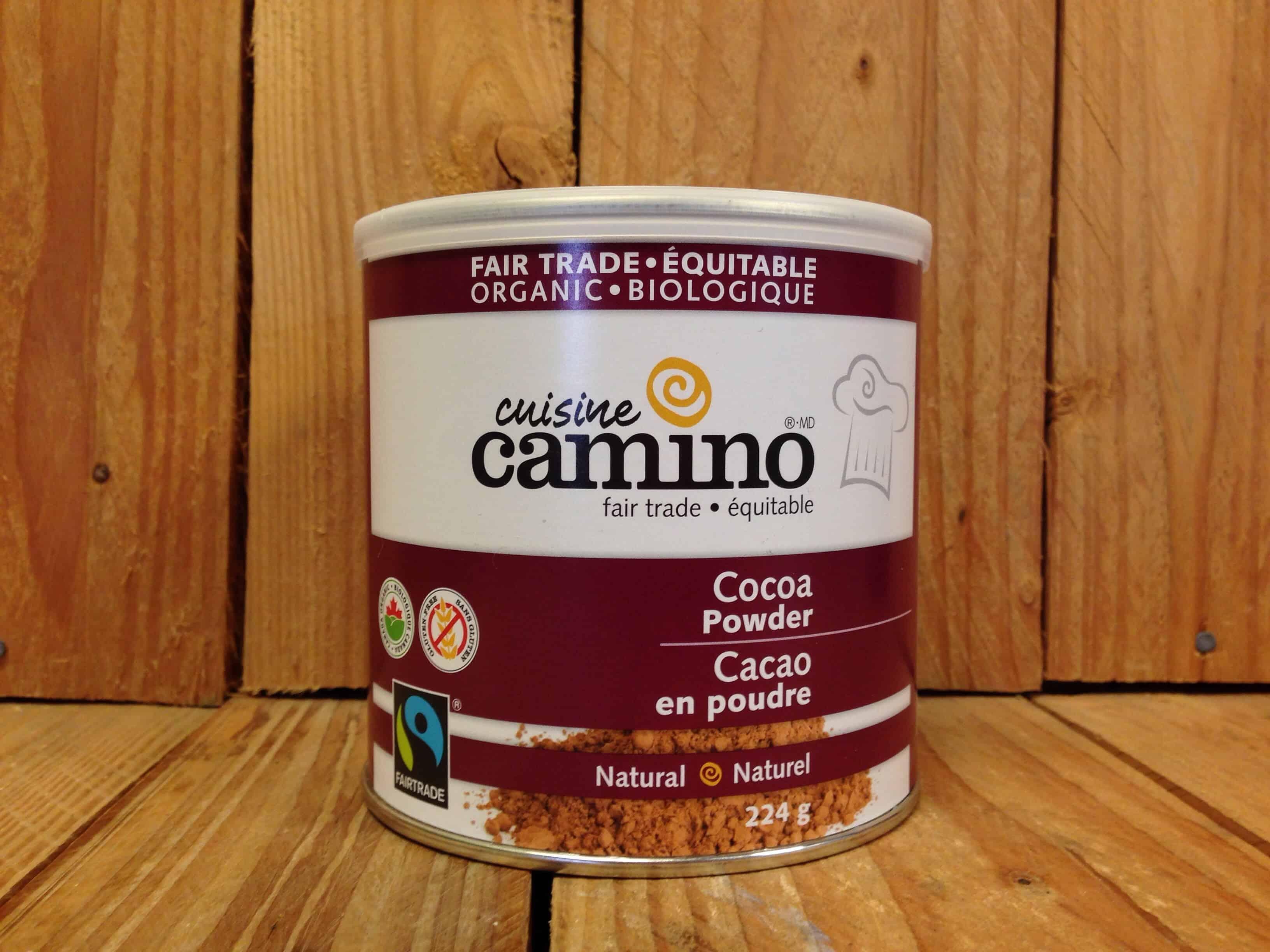 Camino – Organic Natural Cocoa Powder (224g Tin)