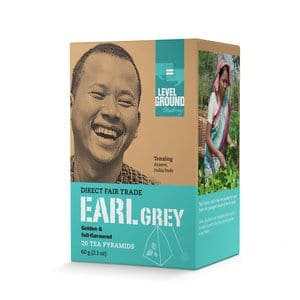 Level Ground Trading – Tea Earl Gray (20 Pyramids)