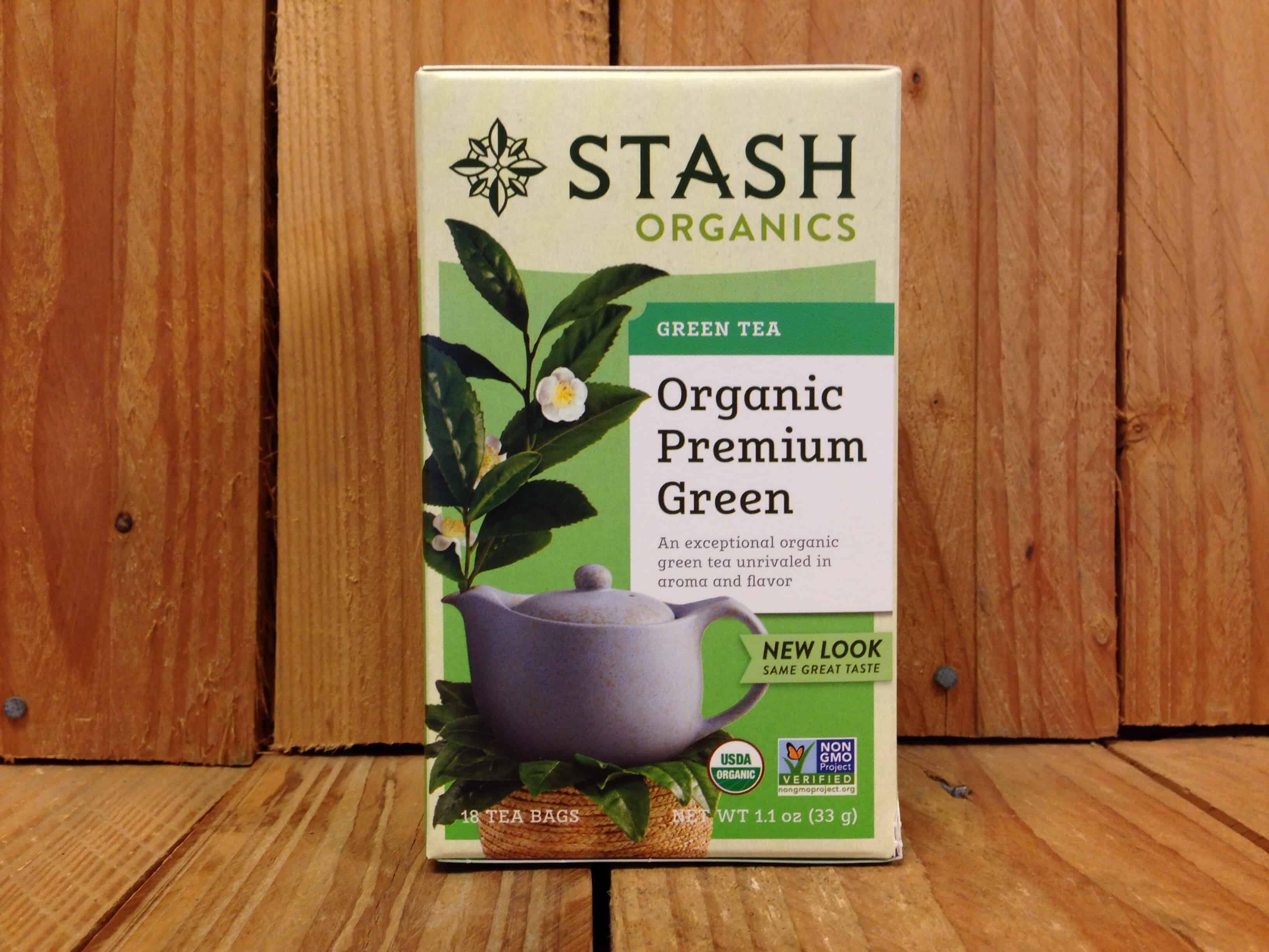 Stash – Organic Premium Green Tea (18 Bags)