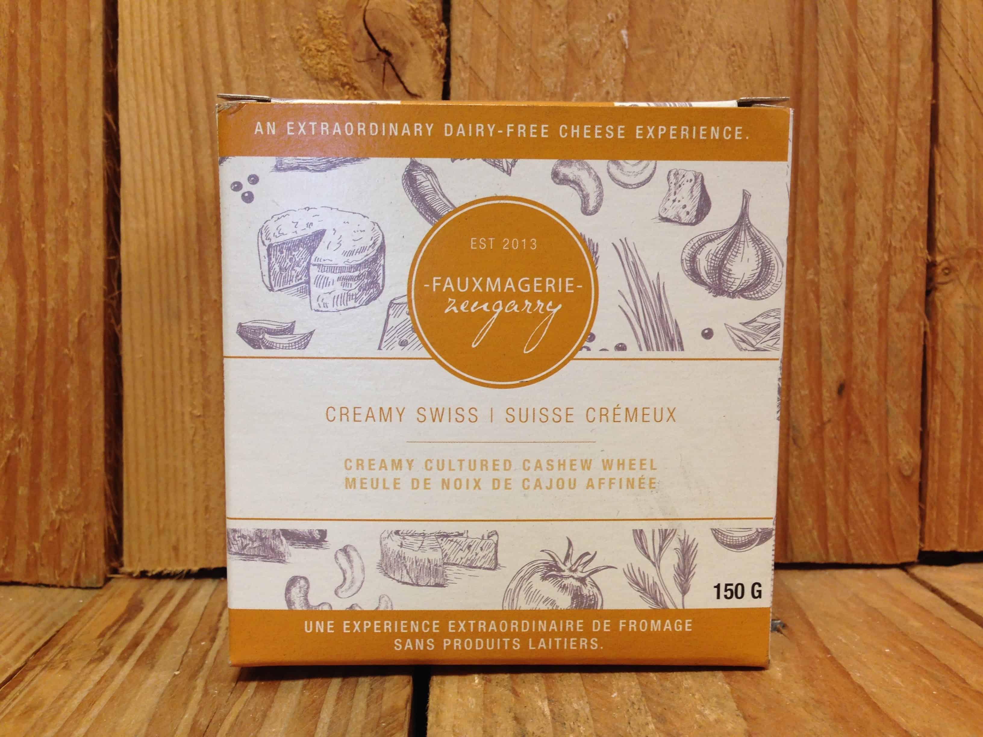 Fauxmagerie Zengarry – Cashew Cheese – Creamy Swiss (150g)
