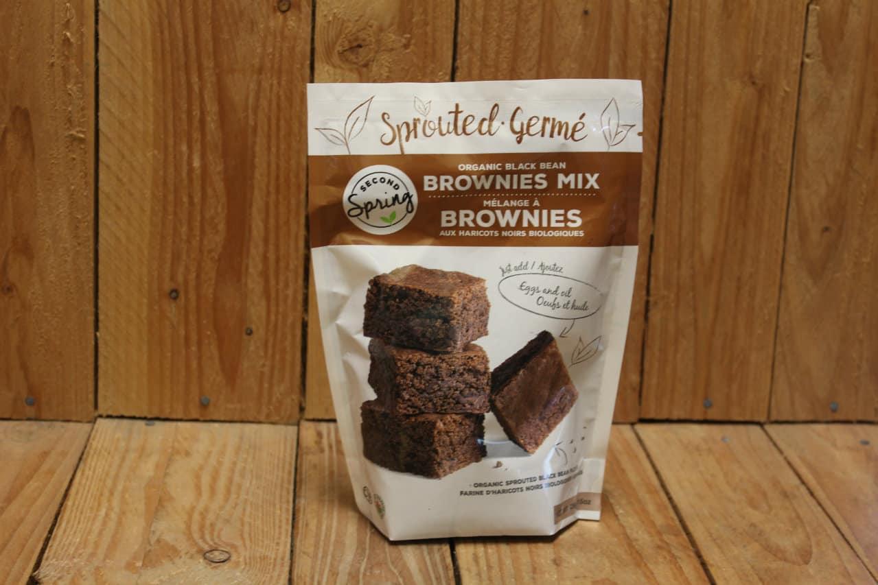 Second Spring – Organic Black Bean Brownies Mix (429g)