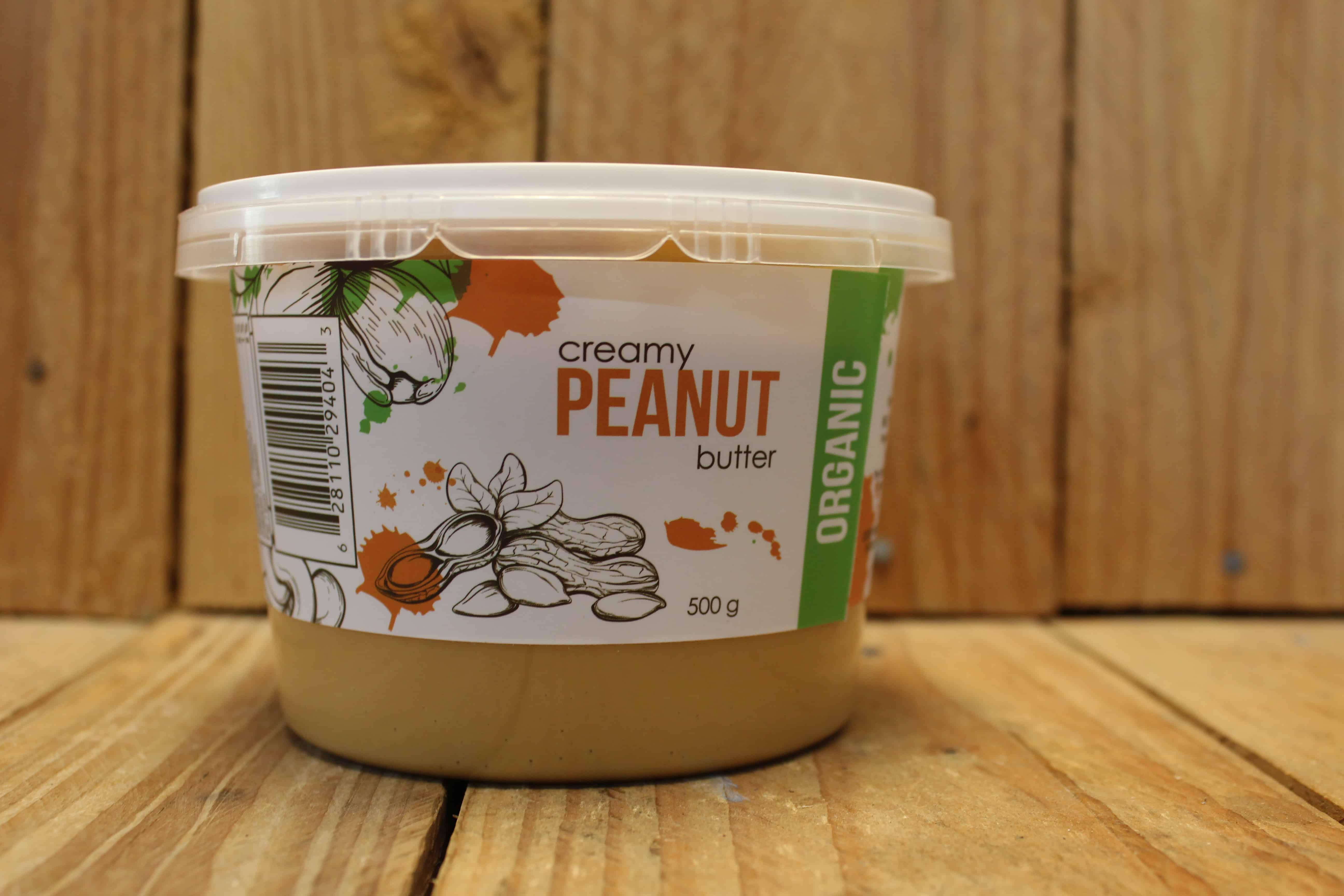 La Palmeraie – Organic Peanut Butter – Creamy (500g)
