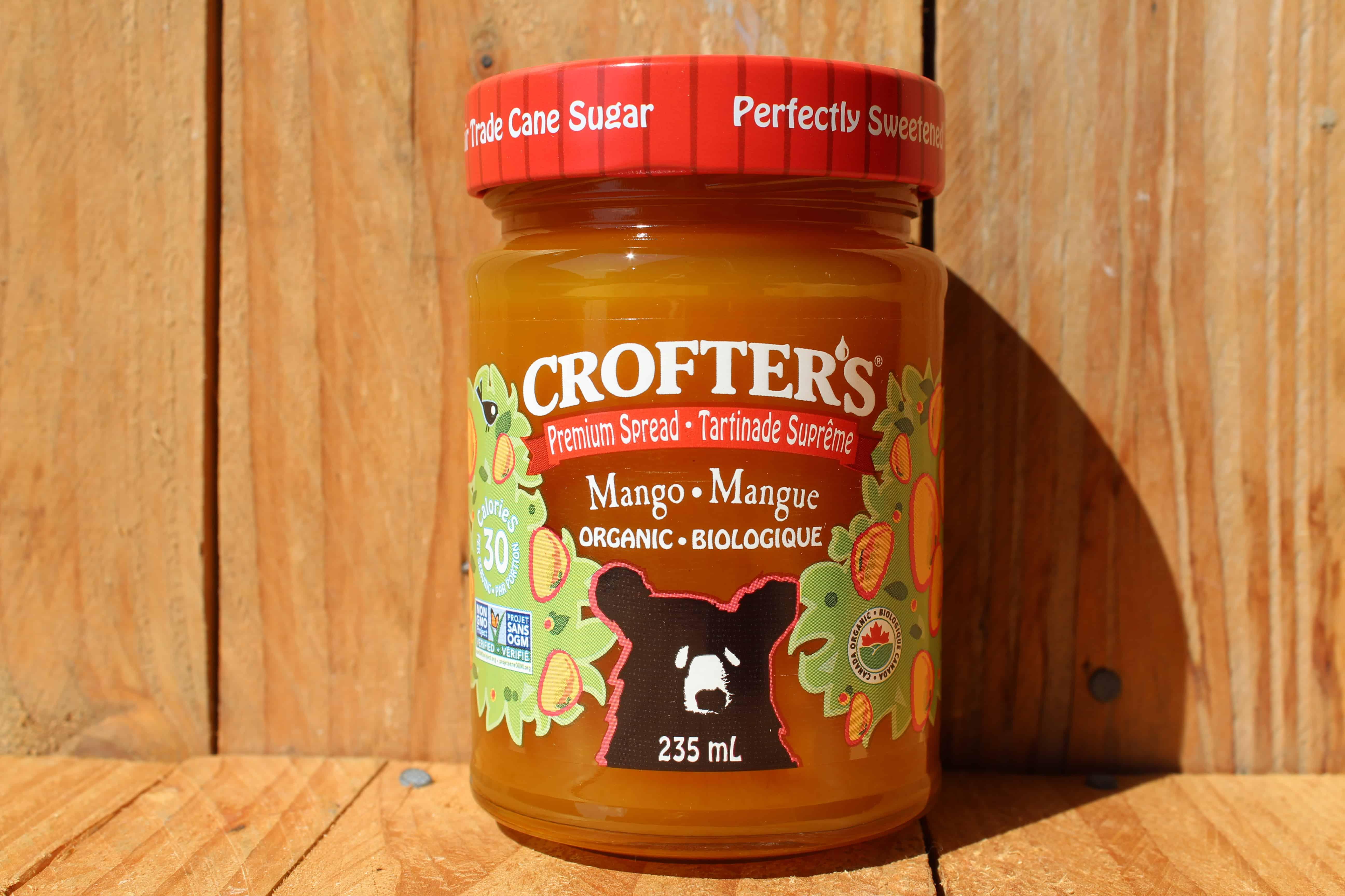 Crofters – Organic Premium Spread – Mango (235ml Jar)