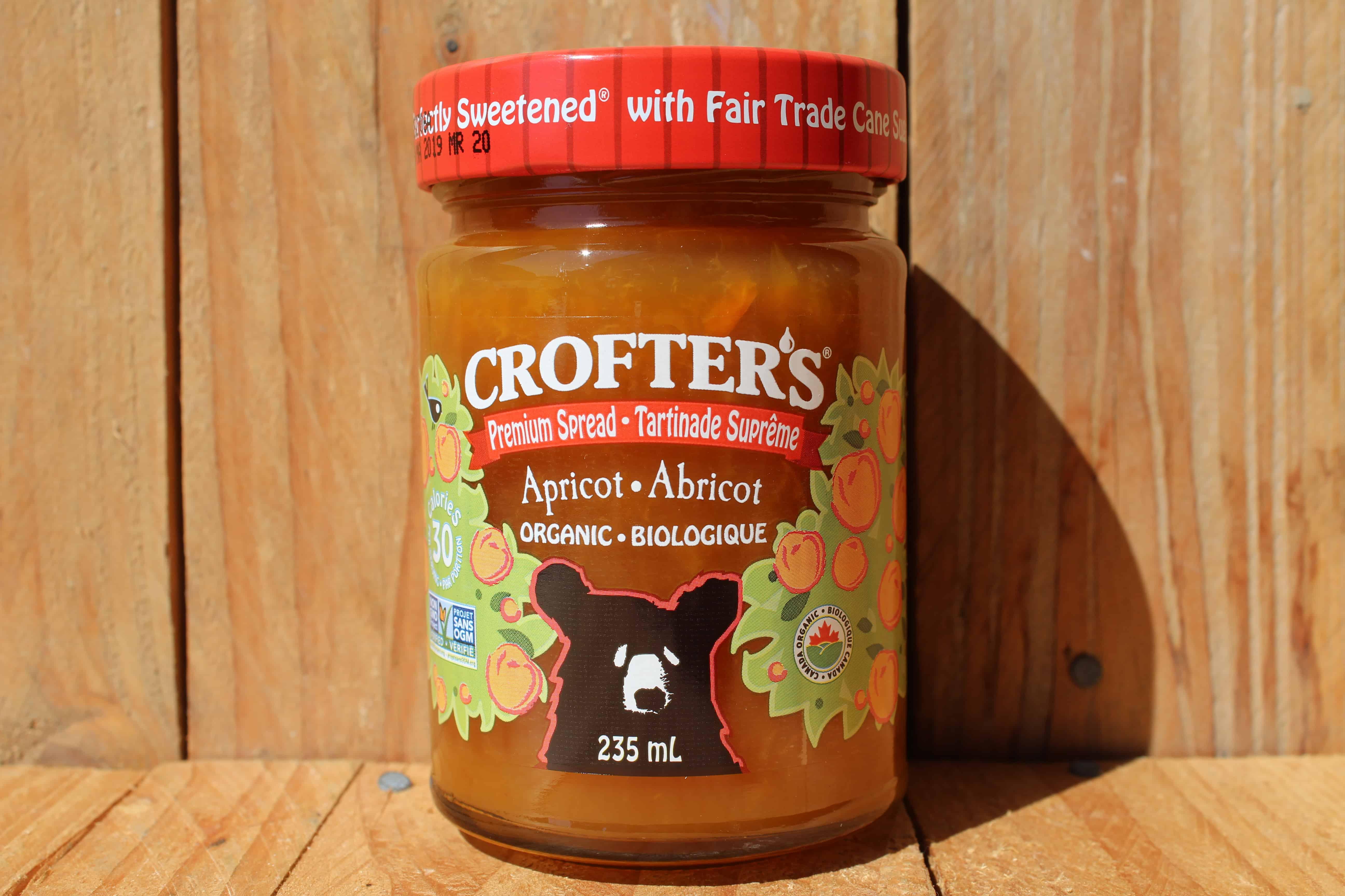 Crofters – Organic Premium Spread – Apricot (235ml Jar)