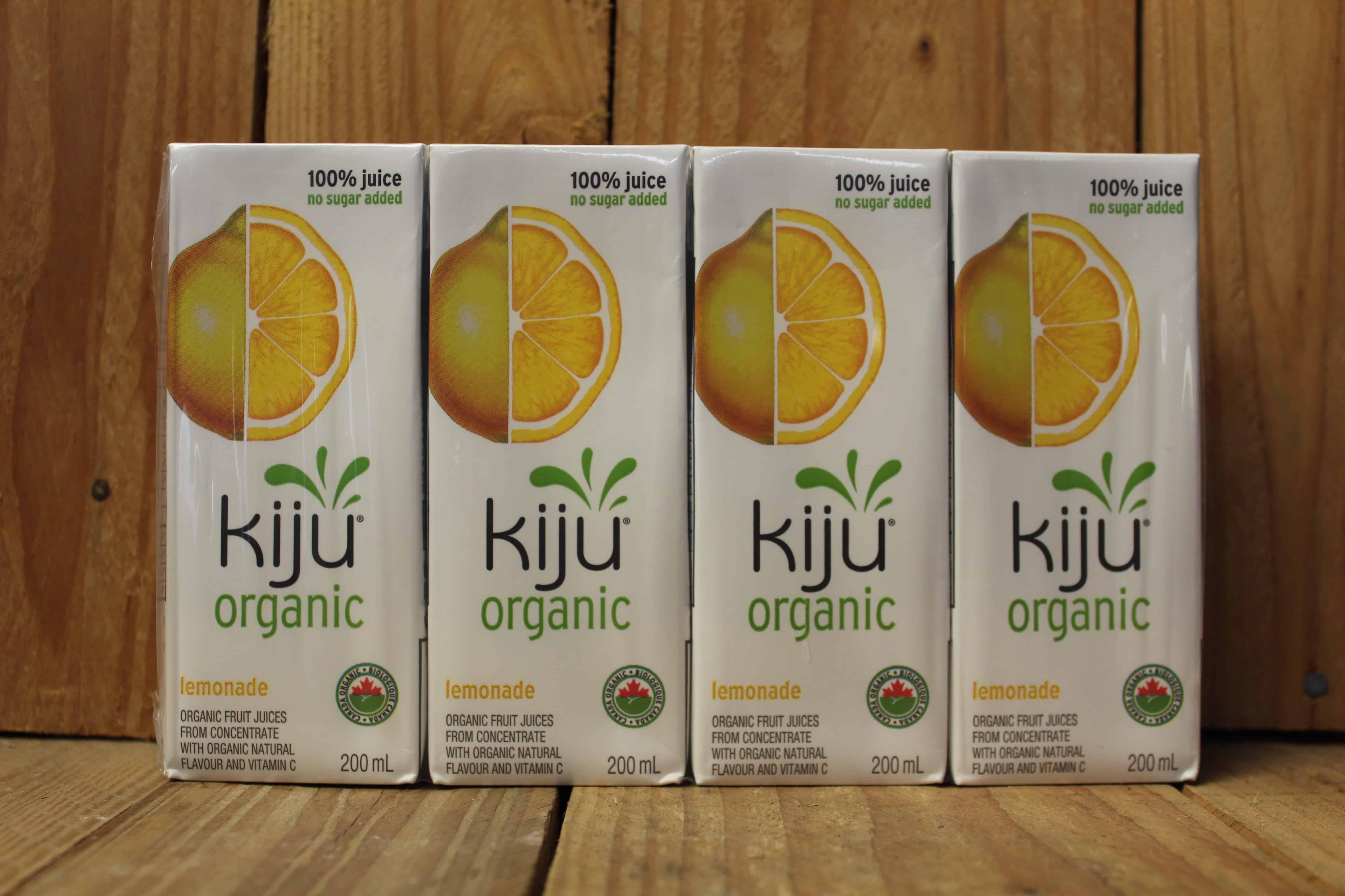 Kiju – Lemonade Juice (Pack of 4 – 200ml Cartons)