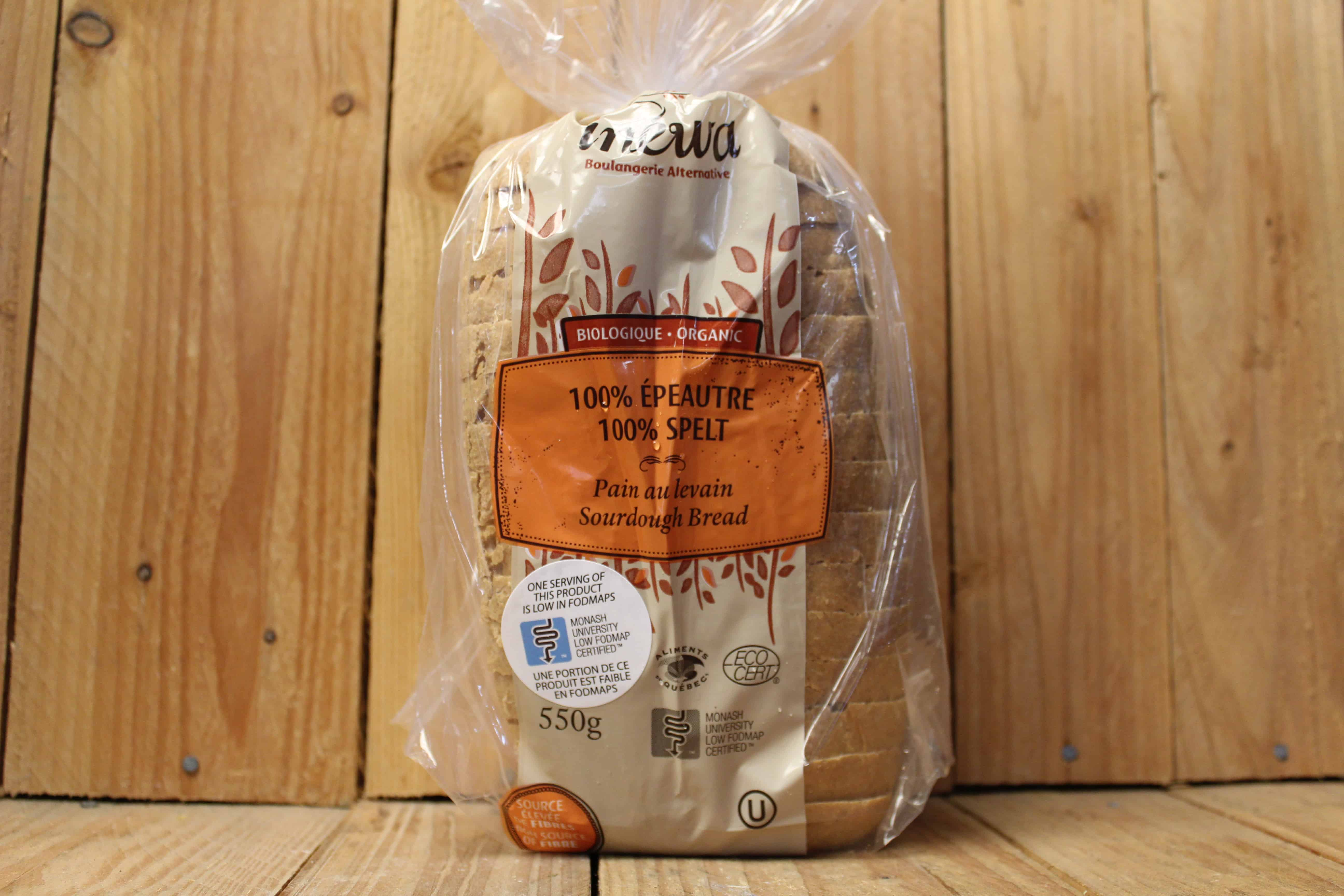 Inewa Bakery – 100% Spelt Sourdough Bread (570g)