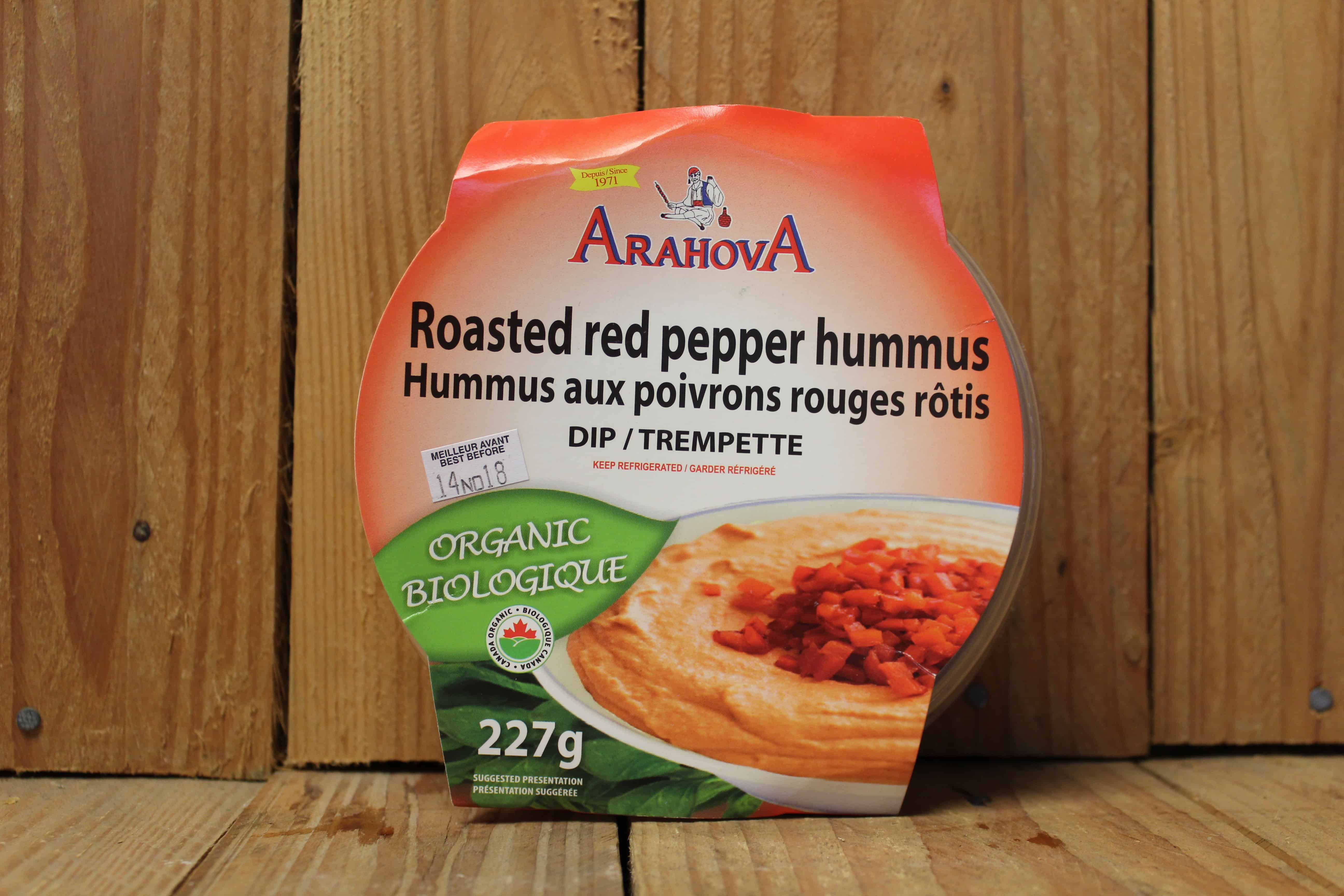 Arahova – Hummus, Red Pepper (227g)