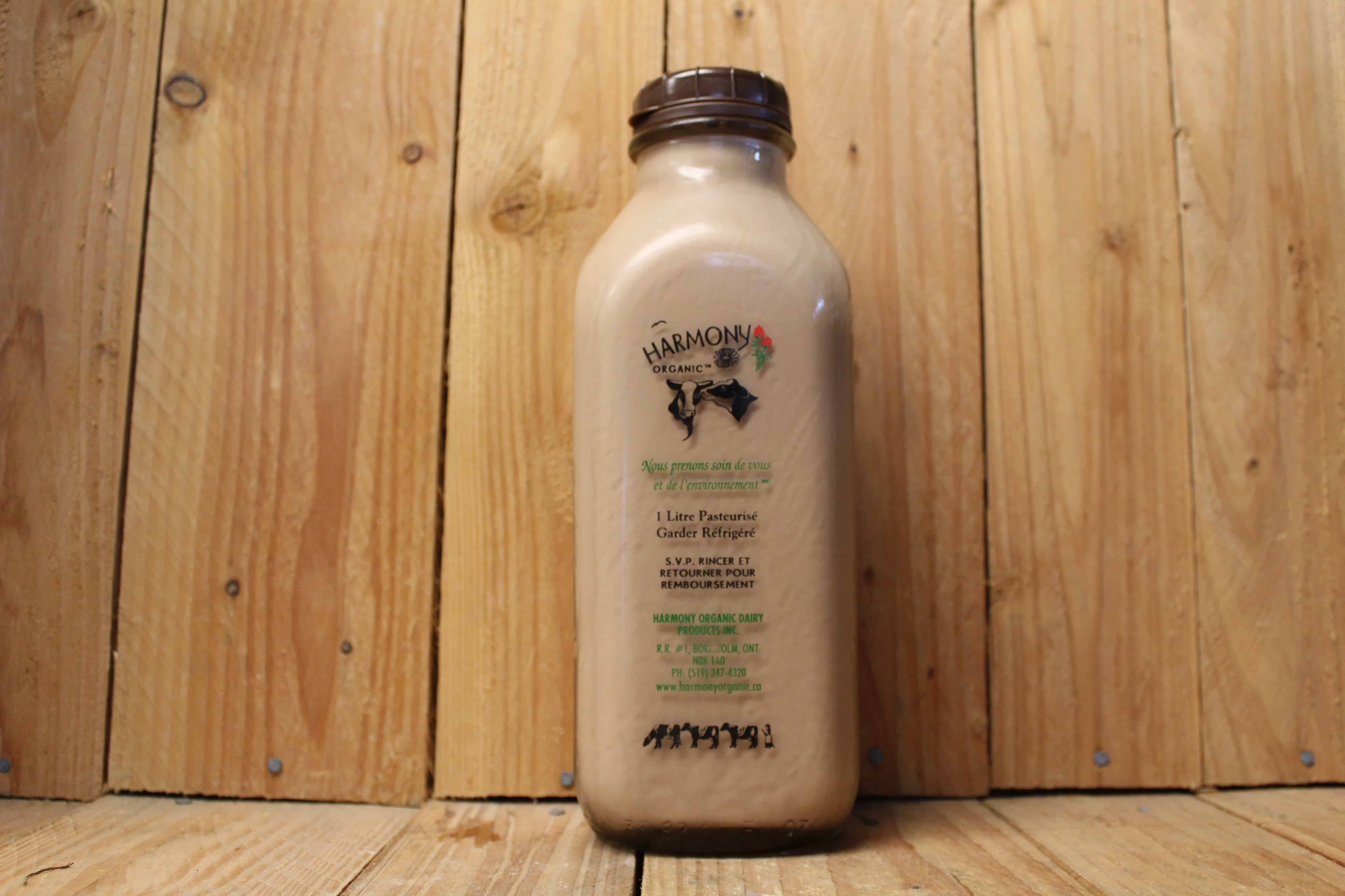 Harmony Dairy – 3.8% Chocolate Milk (1L Bottle) INCLUDES $2 DEPOSIT