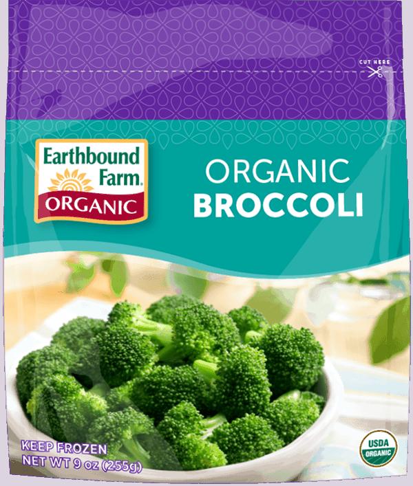Earthbound – Frozen Broccoli Florets (300g bag)