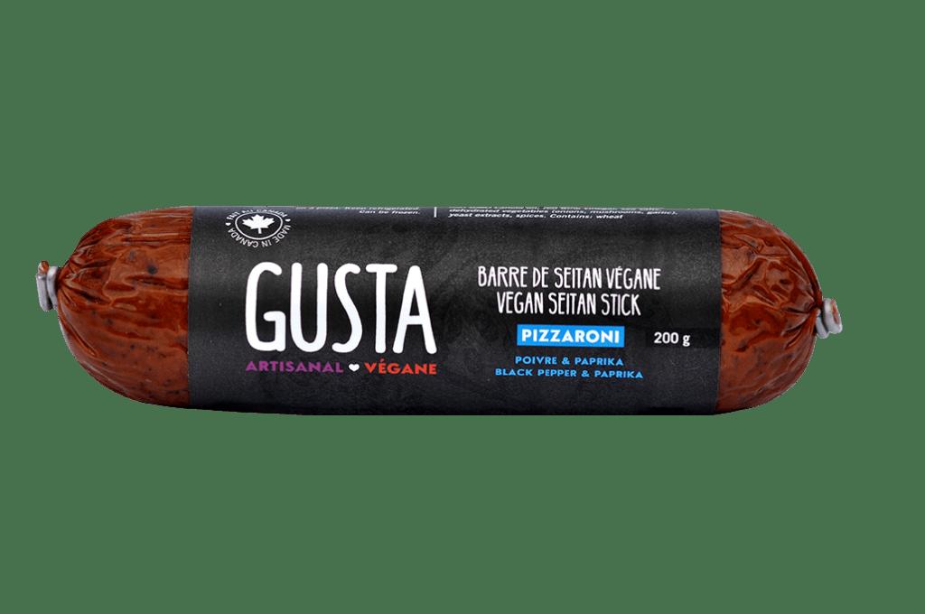 Gusta – Pizzaroni Seitan Stick (200g)