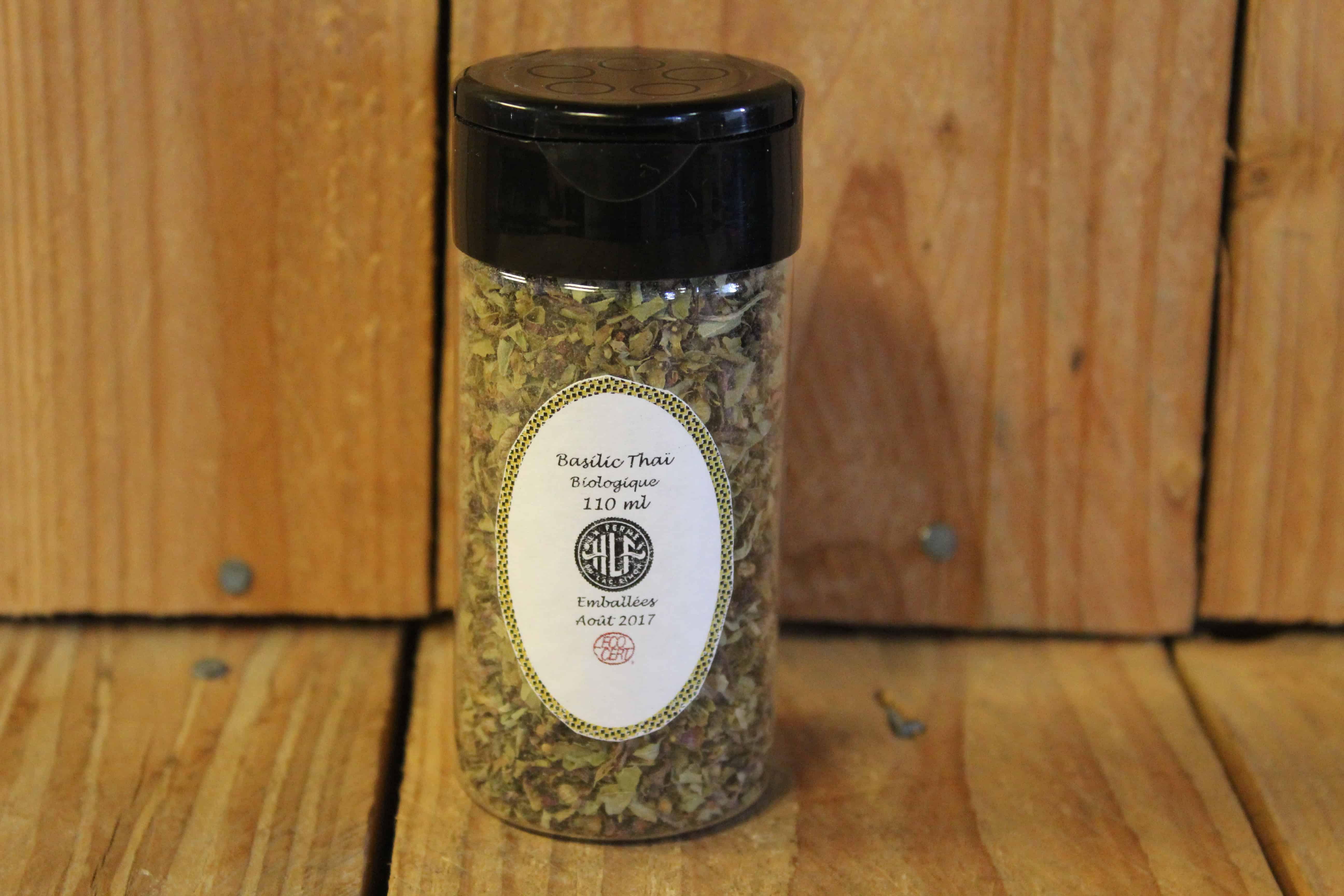 La Ferme HLF – Herbs – LOCAL Thai Basil (110ml)
