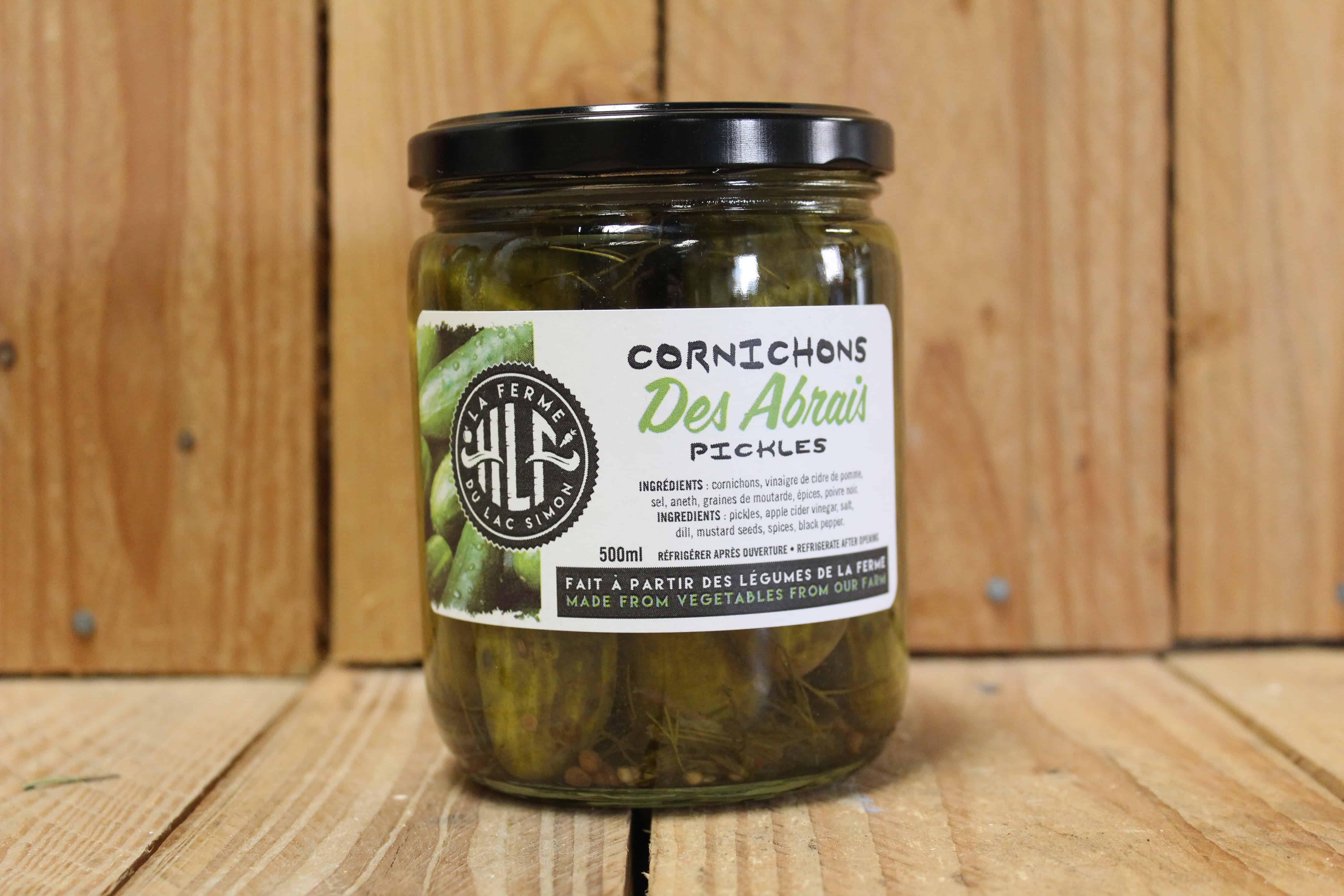 La Ferme HLF – Dill Pickles LOCAL (500ml)