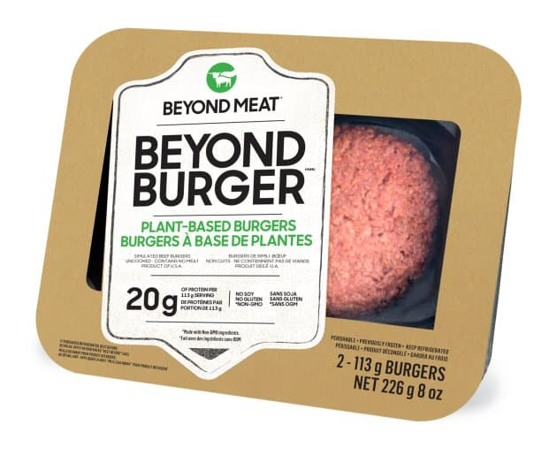 Beyond Meat – Burger, Plant-Based VEGETARIAN (2-Pack/226g)